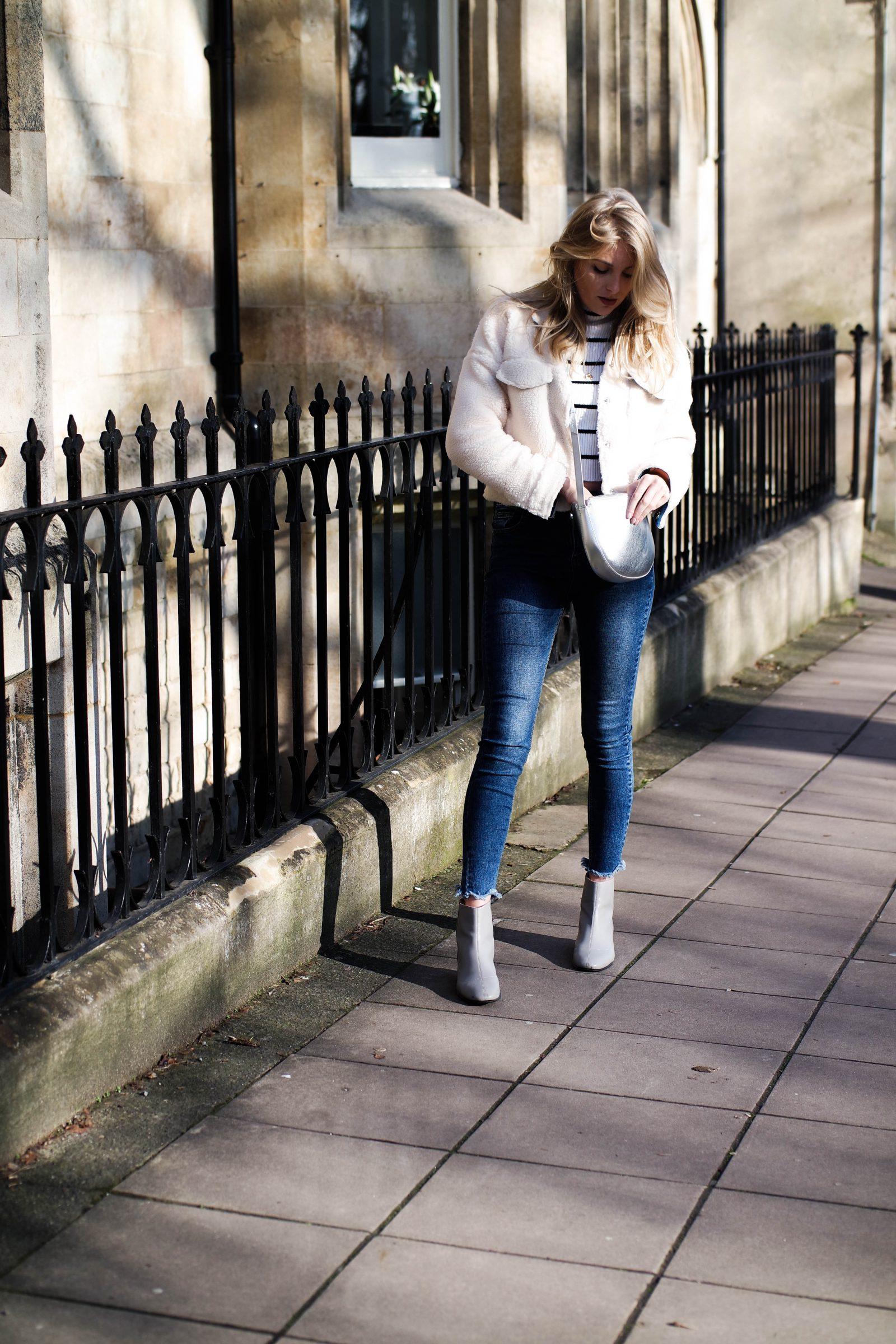 Teddy Bear Coat Blogger Street Style