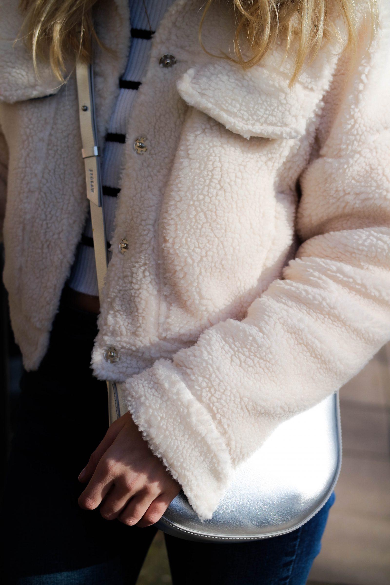 Teddy Bear Coat Cropped Jacket