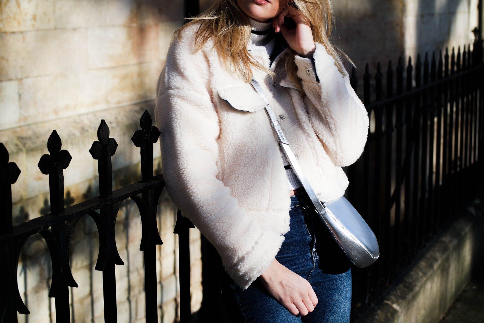 Teddy Bear Coat Fashion Blogger Style