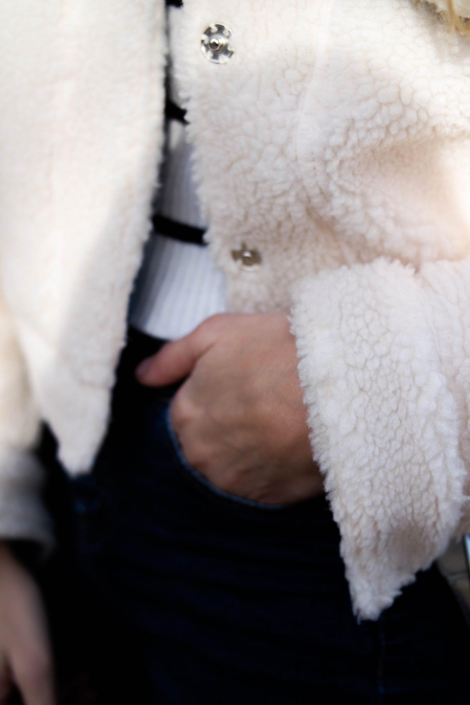 Teddy Bear Coat Shearling Jacket