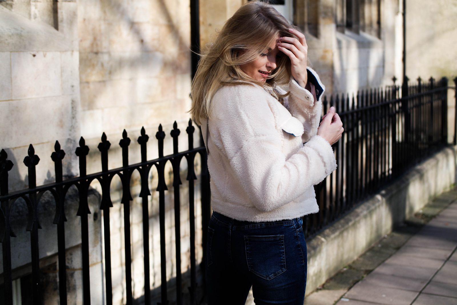 Teddy Bear Coat - Fashion Blogger Sinead Crowe