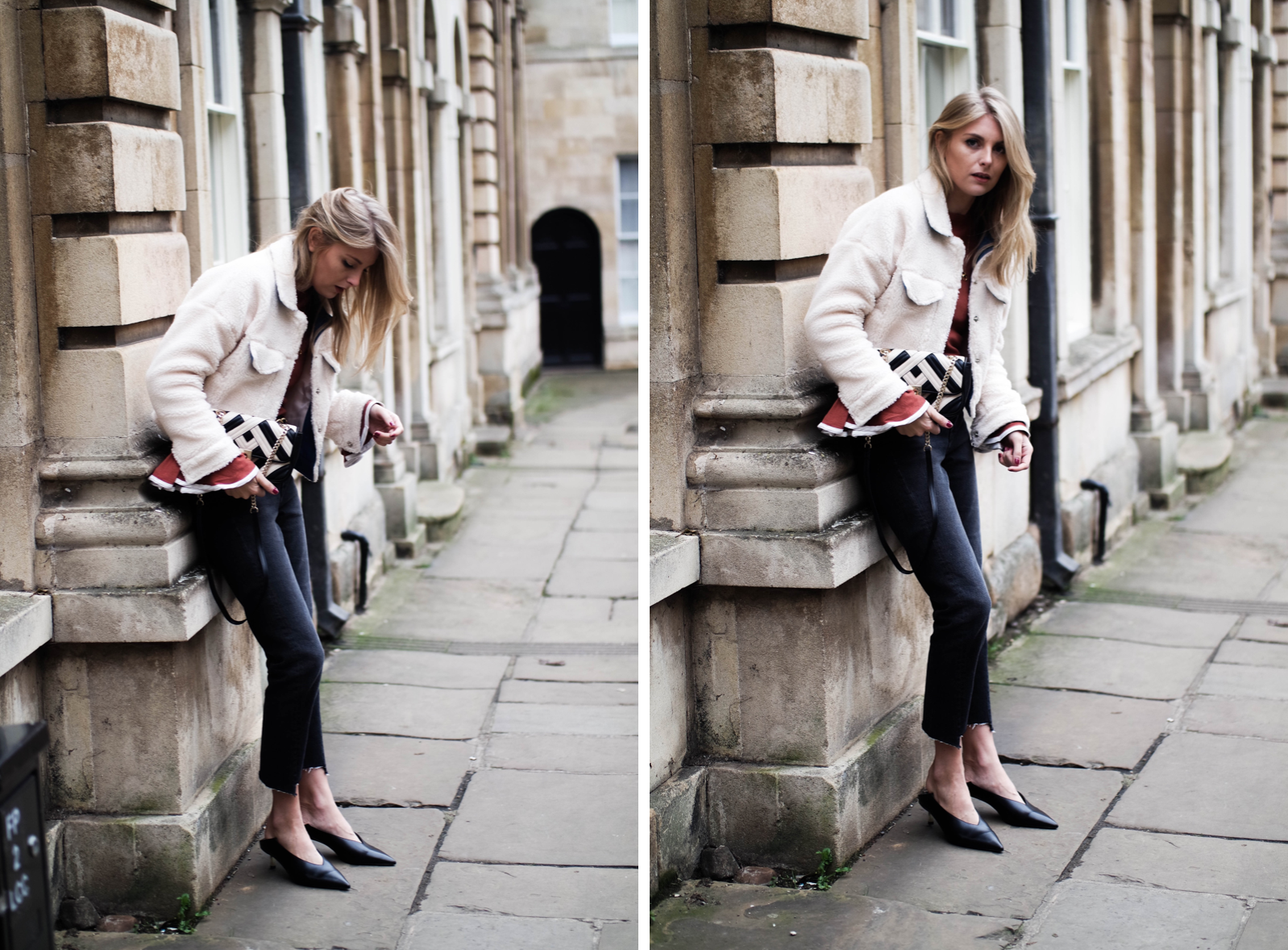 The Return of The Kitten Heel - Blogger Street Style