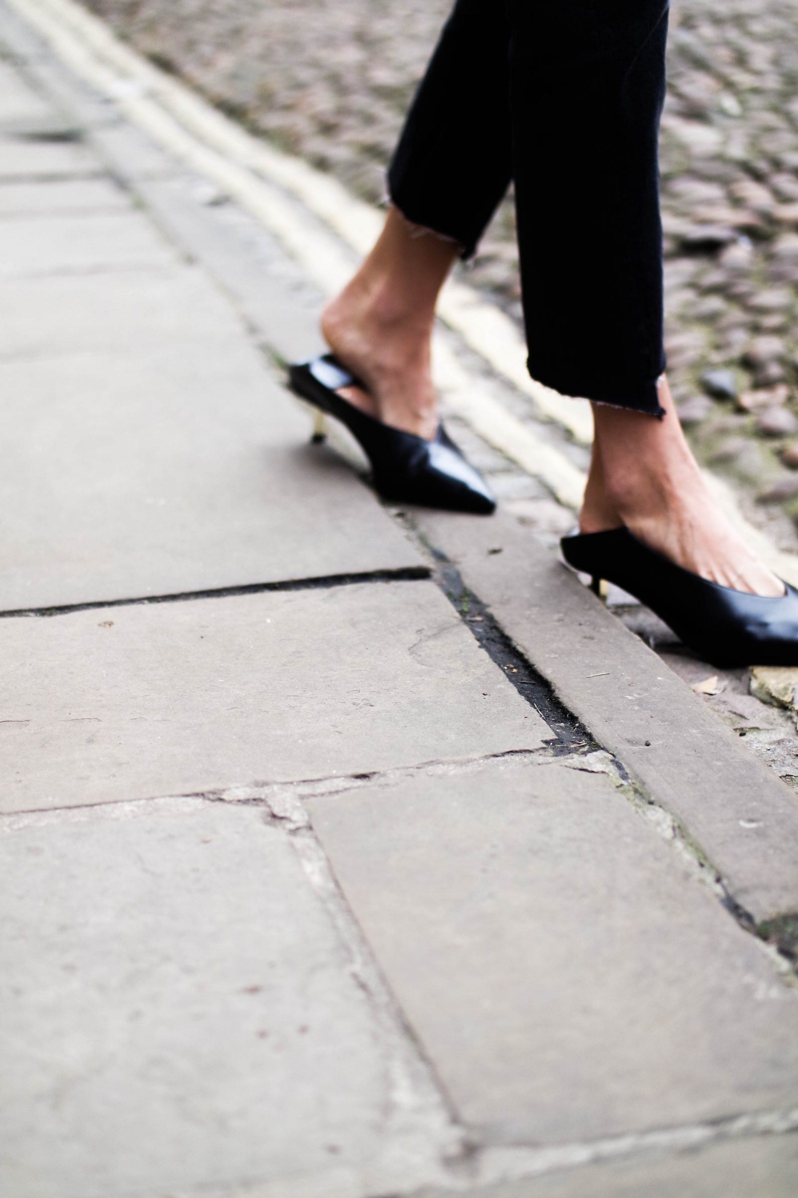 The Return of The Kitten Heel - Pointed Mules