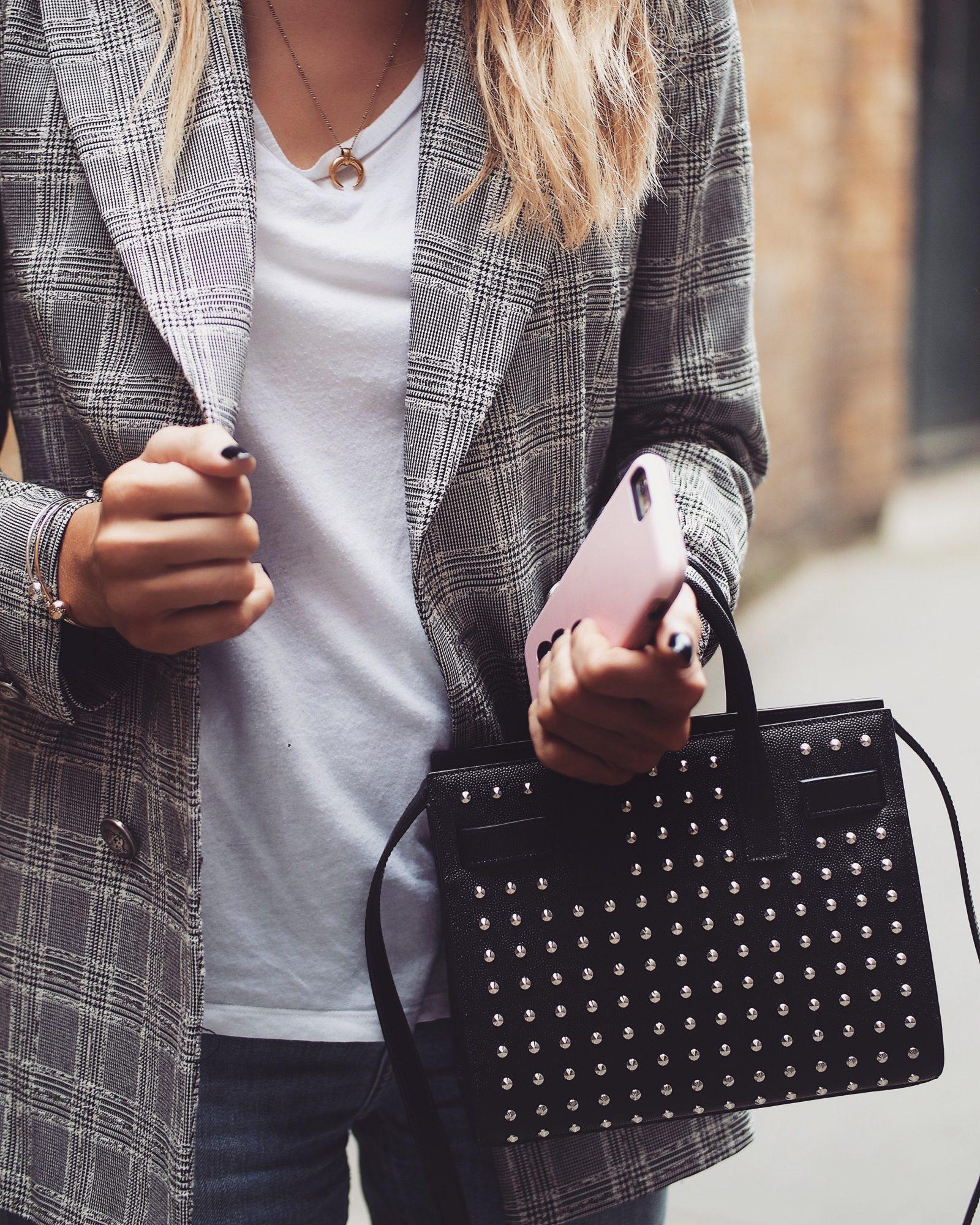 3 Apps to Increase Page Views - Zara Check Blazer