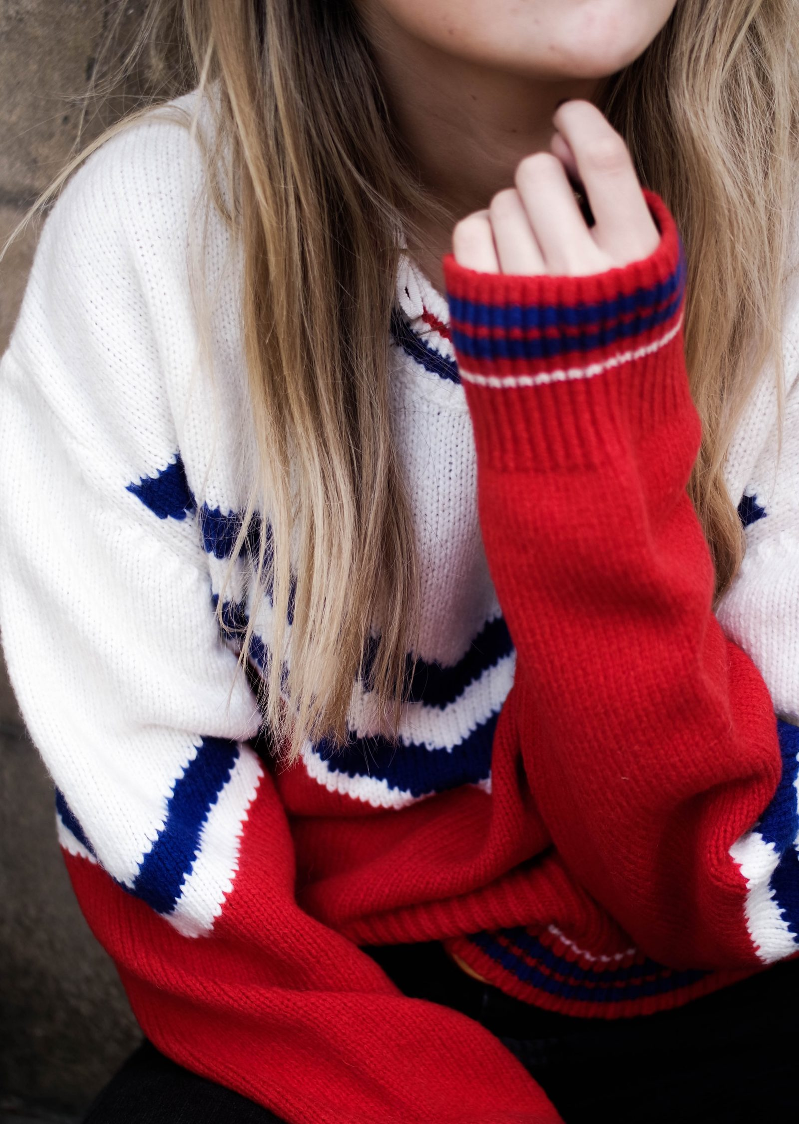 Chanelling Gucci - Colour Block Knit