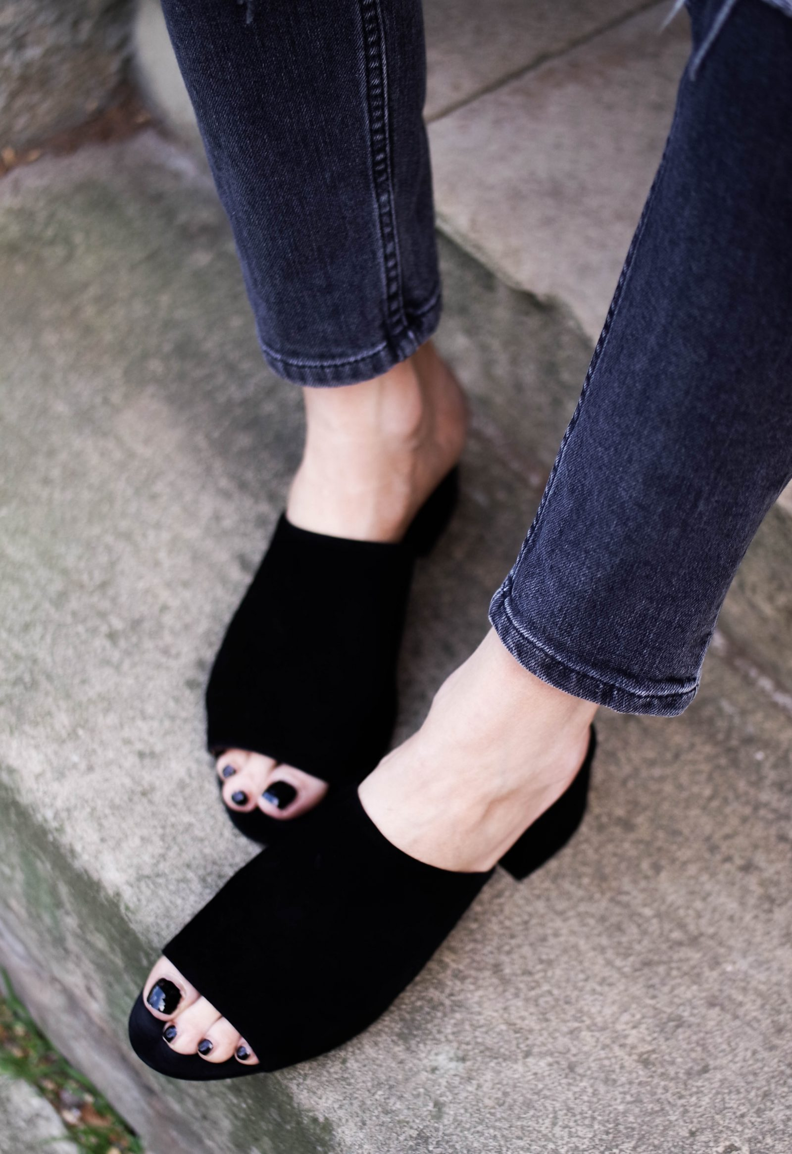 Chanelling Gucci - Black Mules