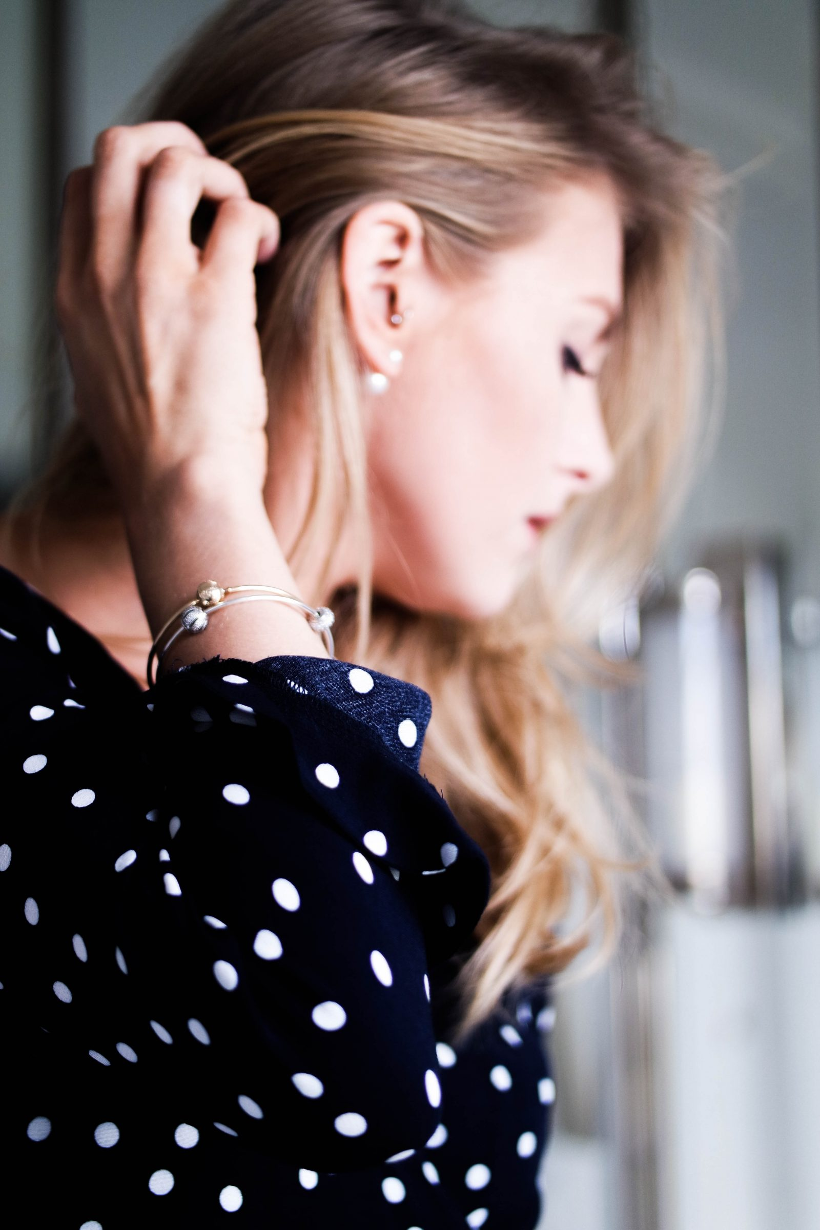 Digital Detox With Pandora - Pandora Pearl Earrings
