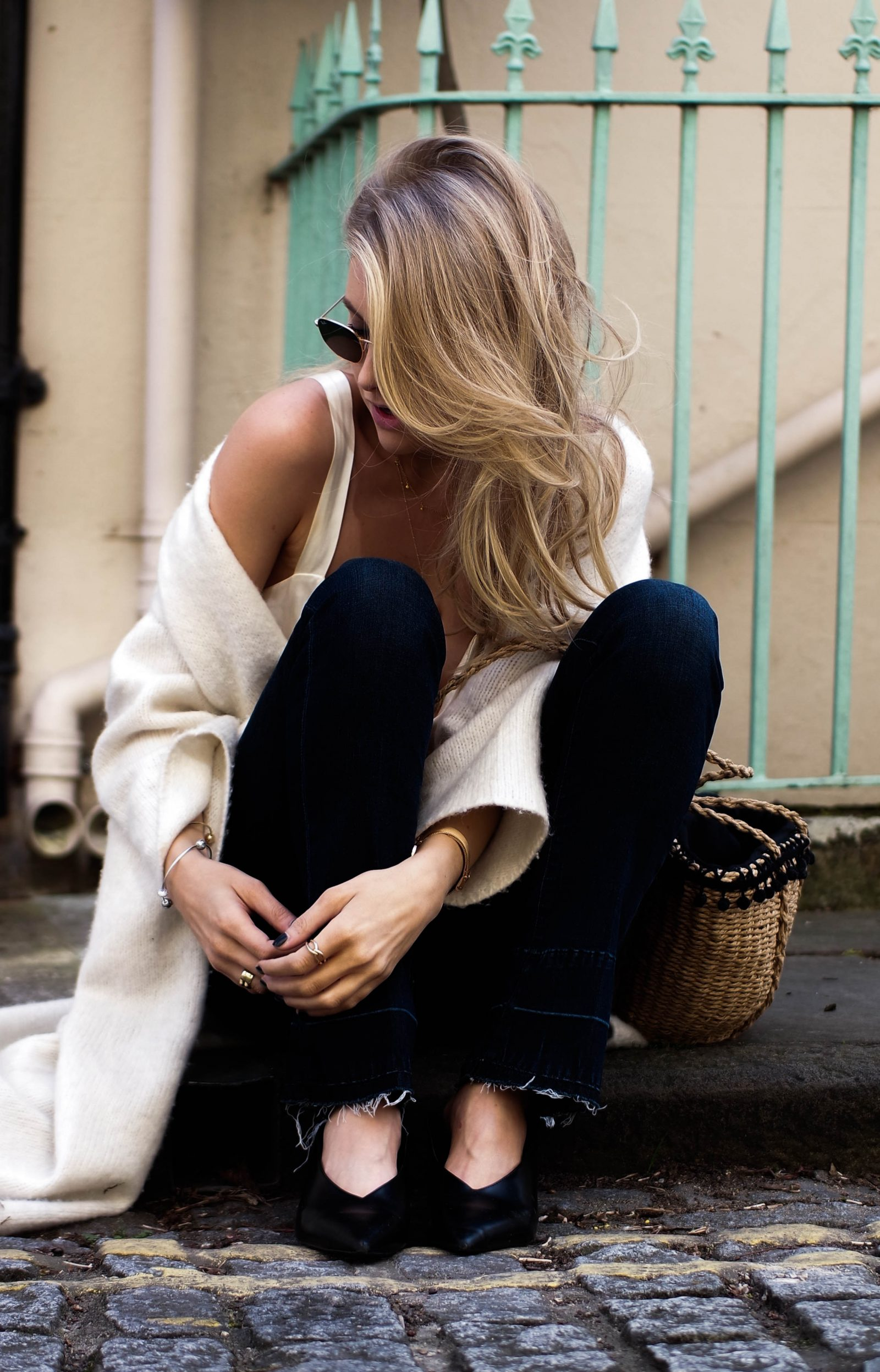 The New Denim - How To Wear Flares - Fashion Blogger Spring Style