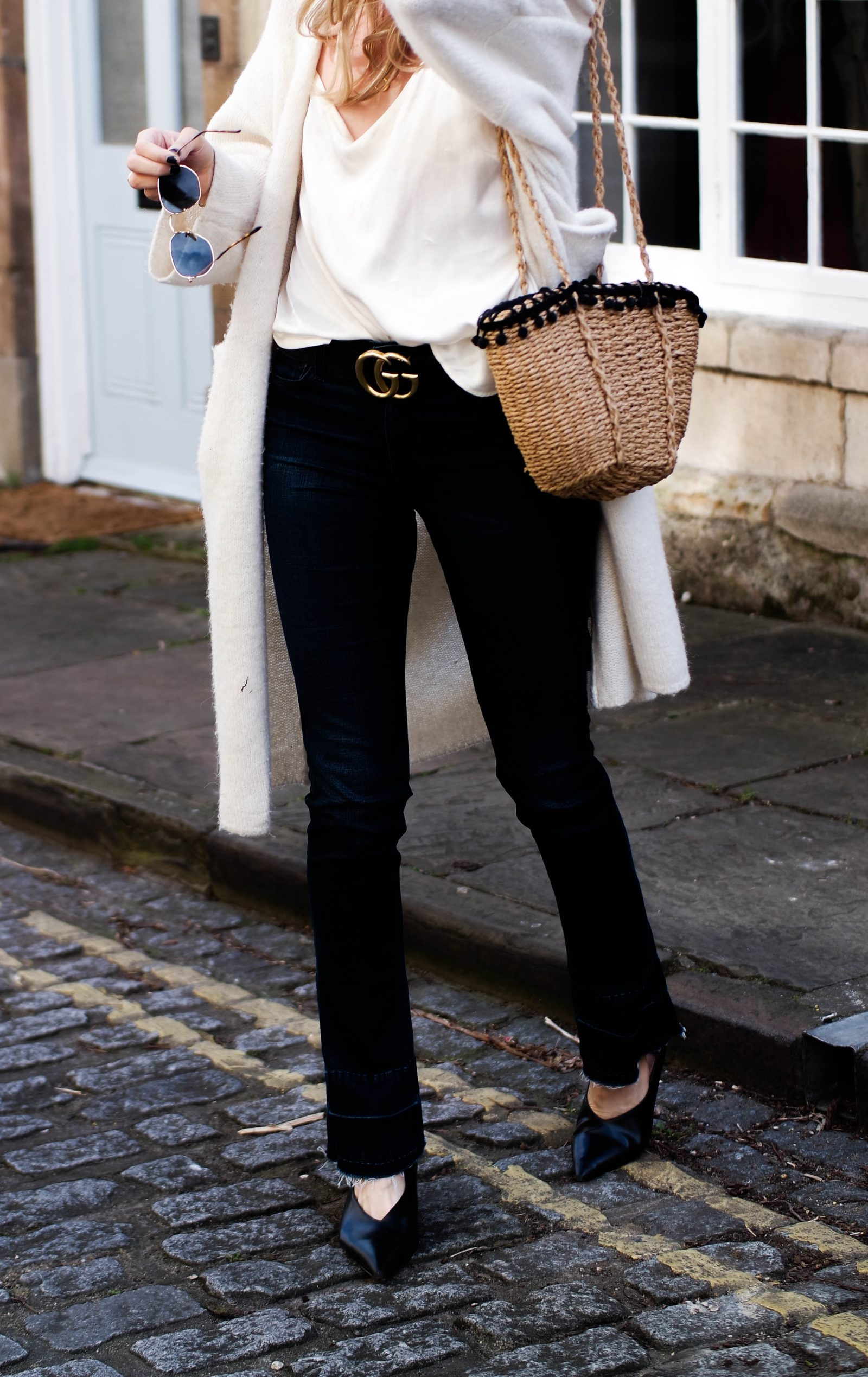 The New Denim - How To Wear Flares - Gucci Statement Belt