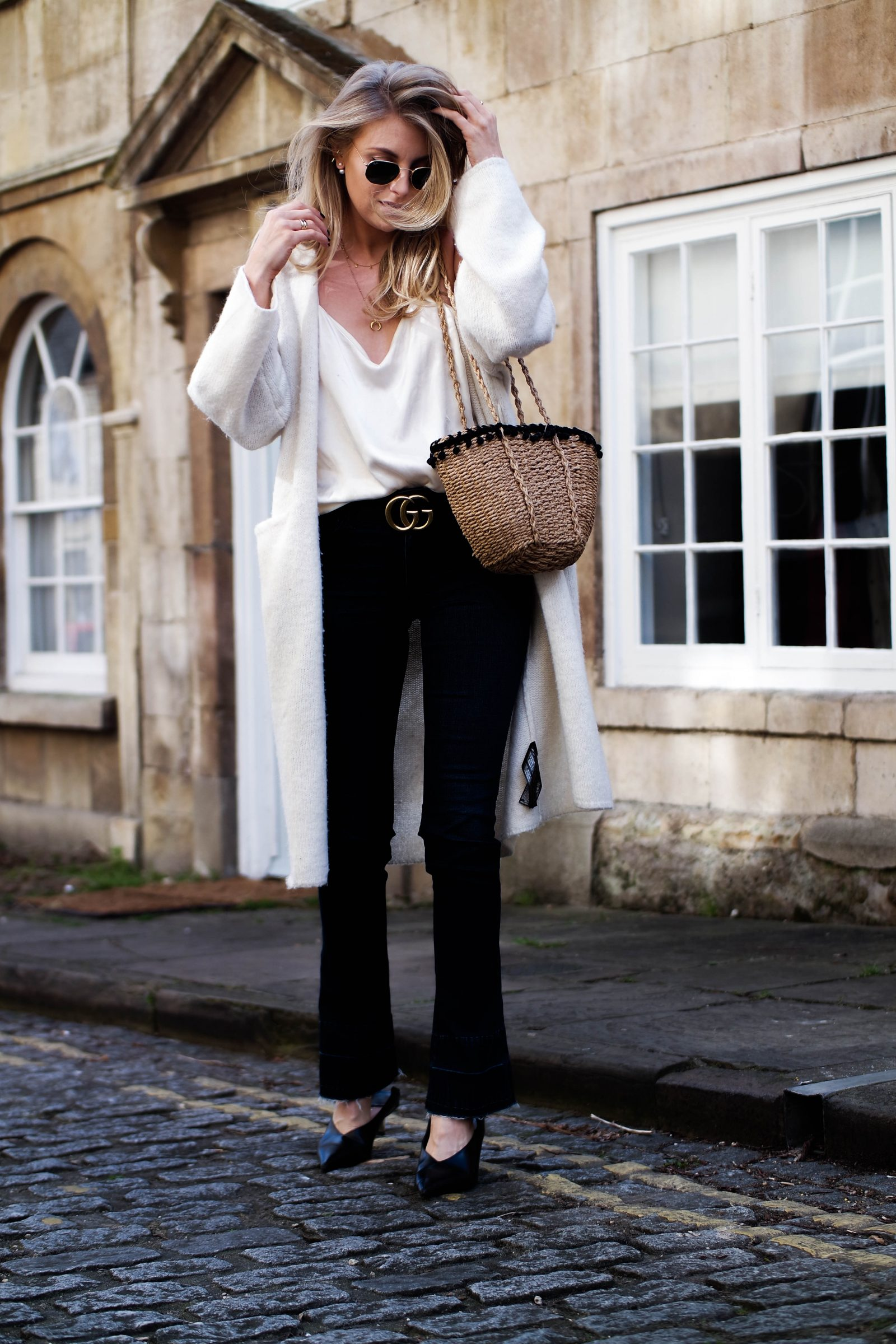 The New Denim - How To Wear Flares - Joes Jeans Mini Flares