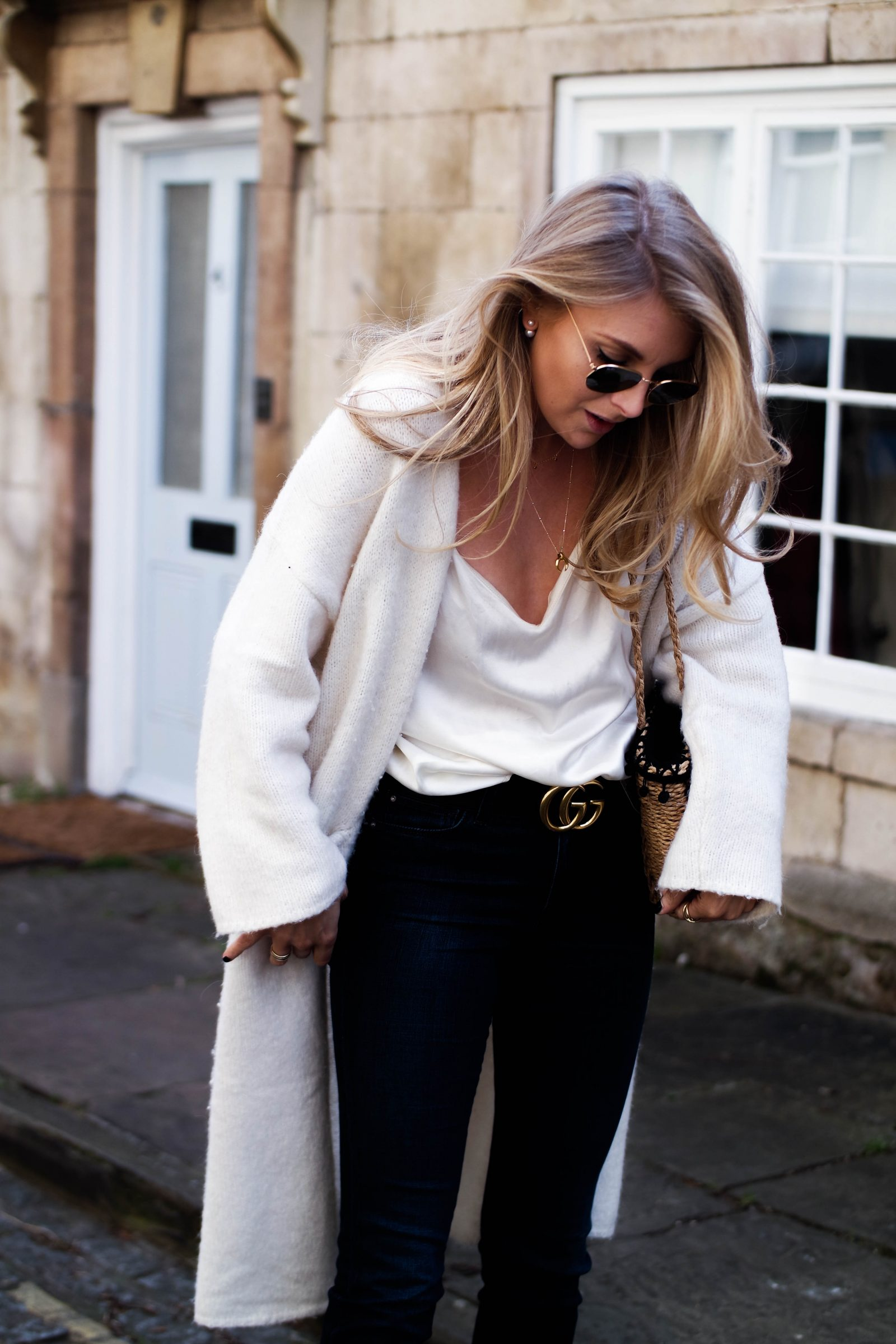 The New Denim - How To Wear Flares - Silk Cami
