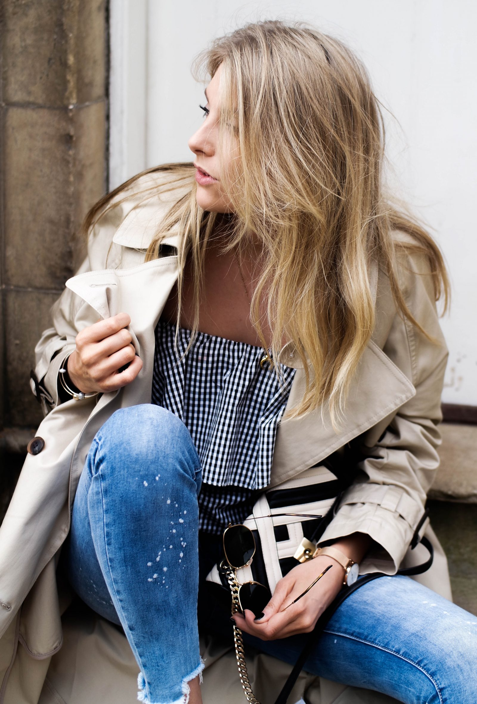 The Spring Wardrobe Staple Every Woman Should Own - Gingham Ruffle Top