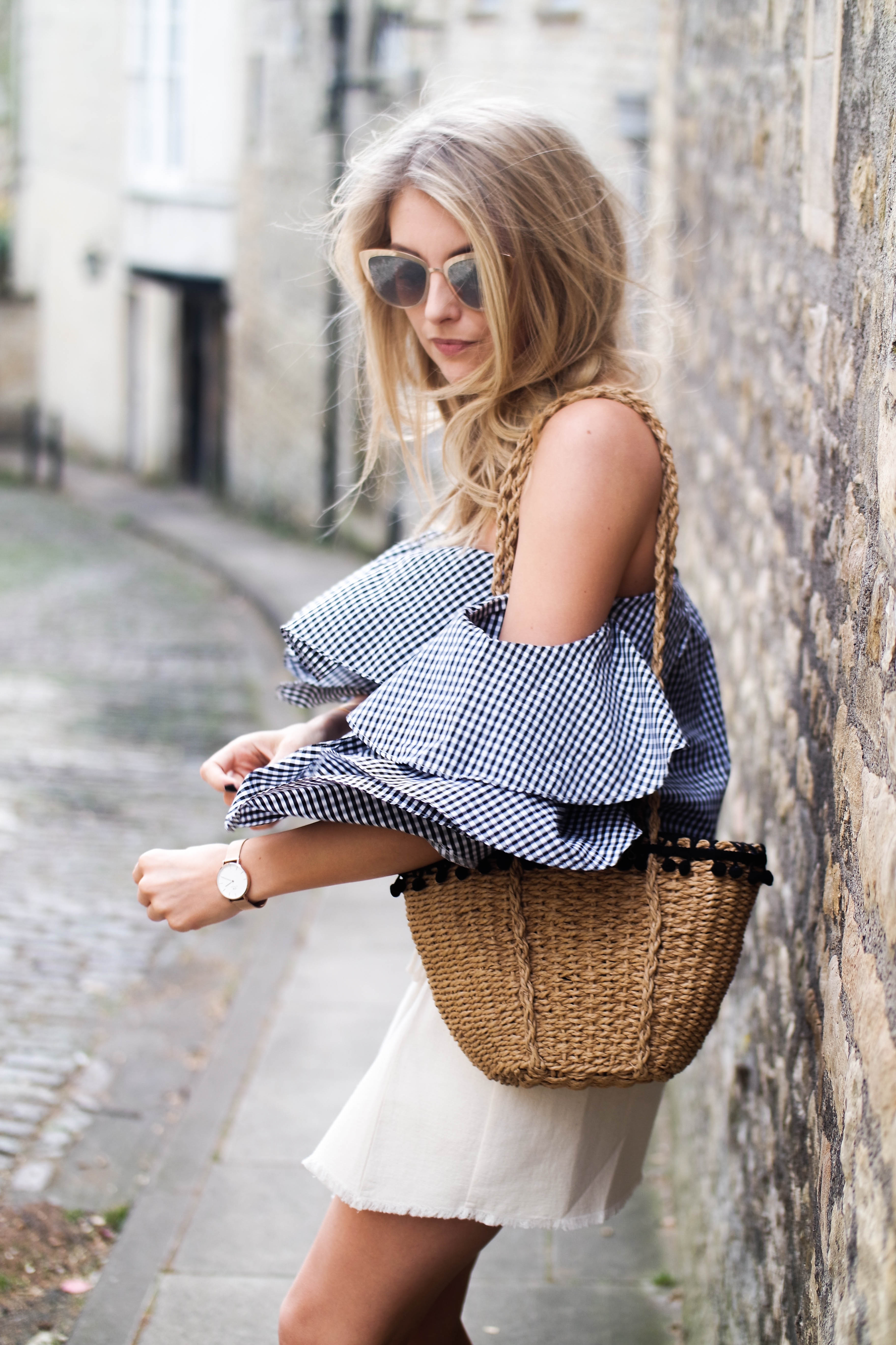 Why You Need A Basket Bag For Spring - Zara Woven Bag