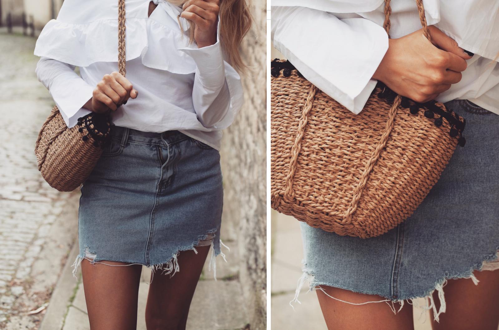 Love Sheinside - Woven Bag
