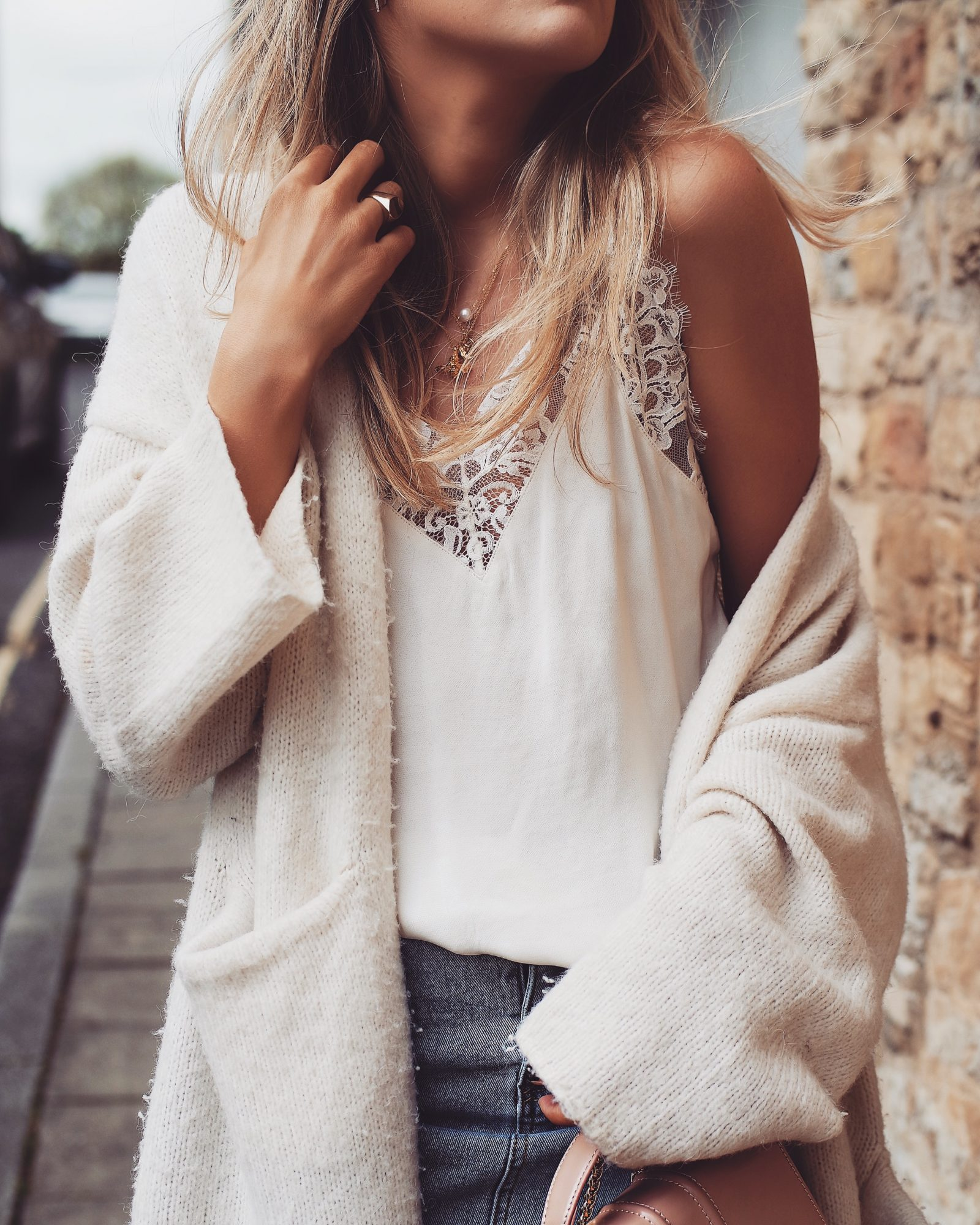 Styling Tips - Lace Trim Cami