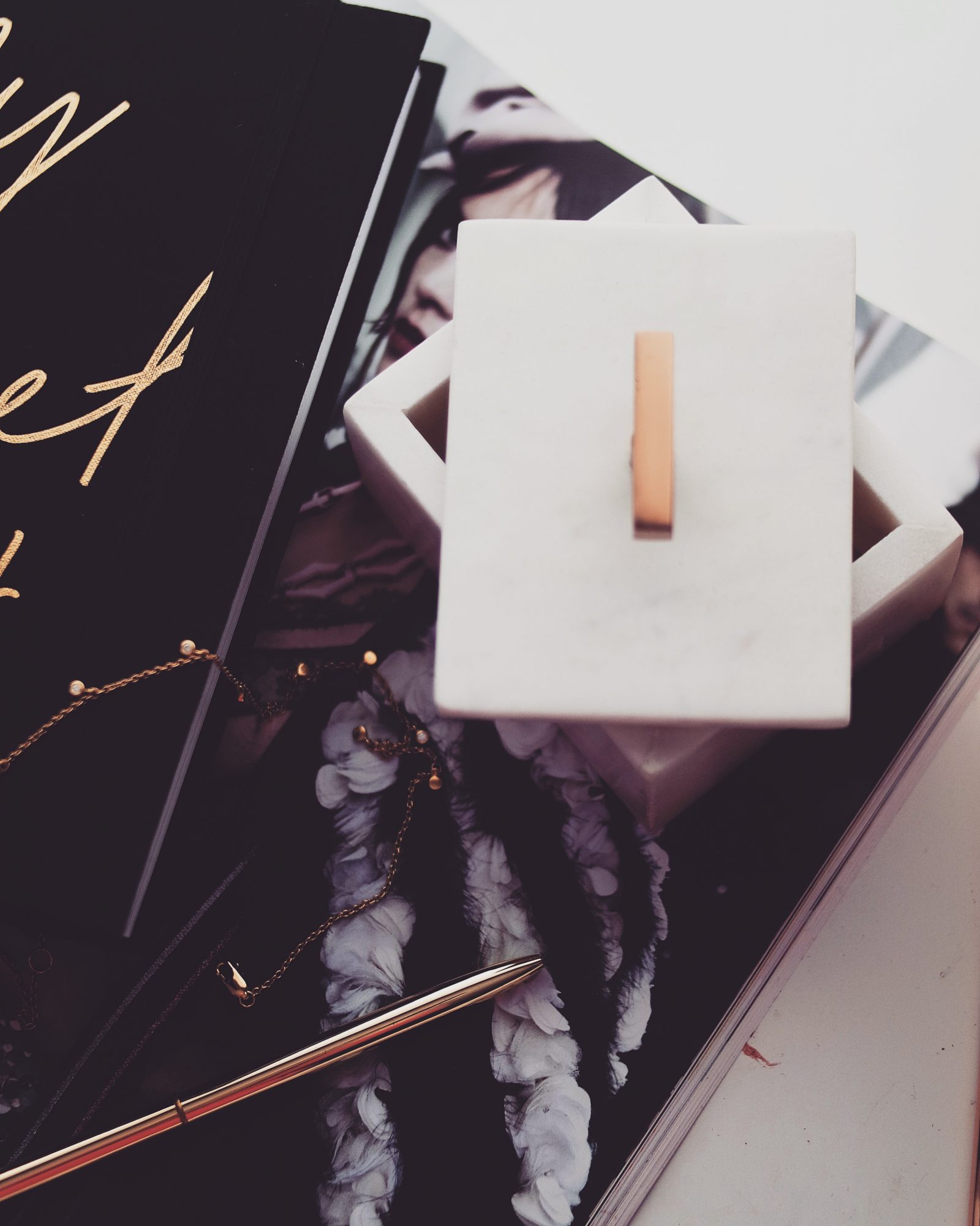 The Secret - Oliver Bonas Marble Box