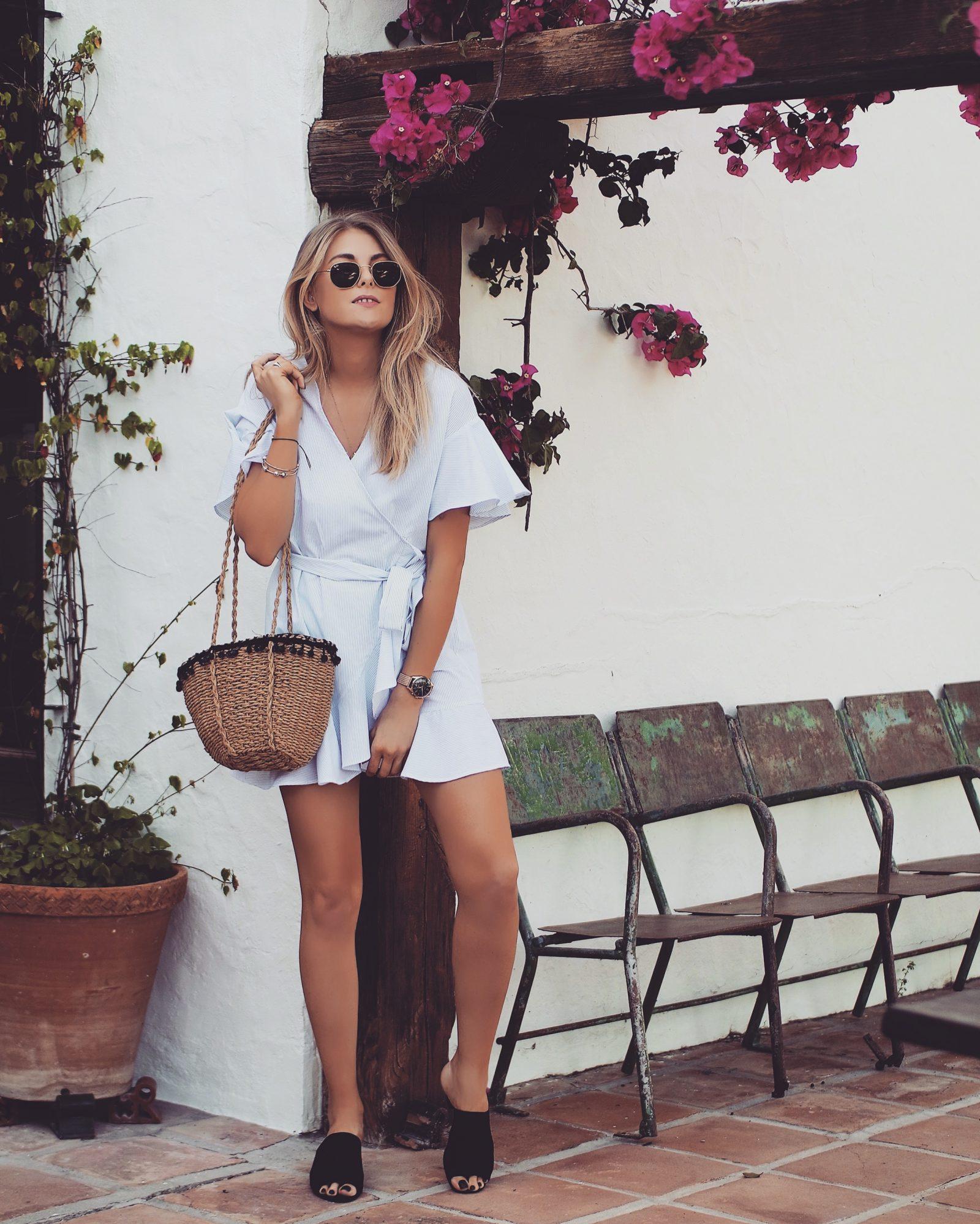 Topshop Dress - Poplin Dress