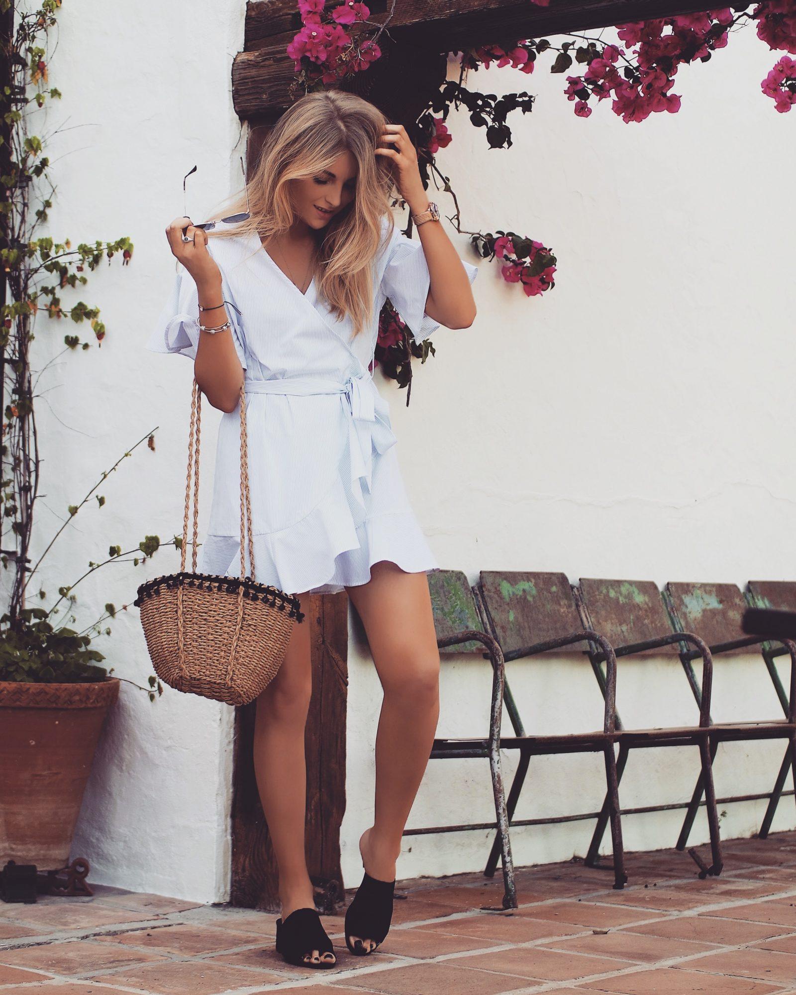 Topshop Dress - Ruffle Tea Dress