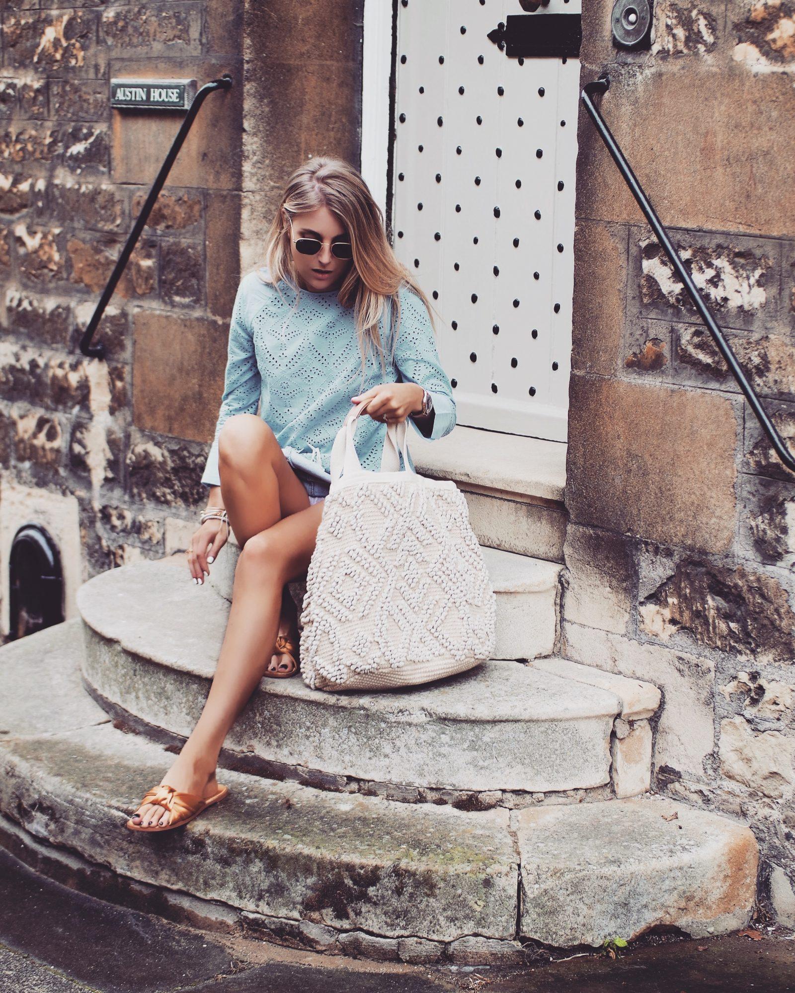 Basket Bag - Summer Style