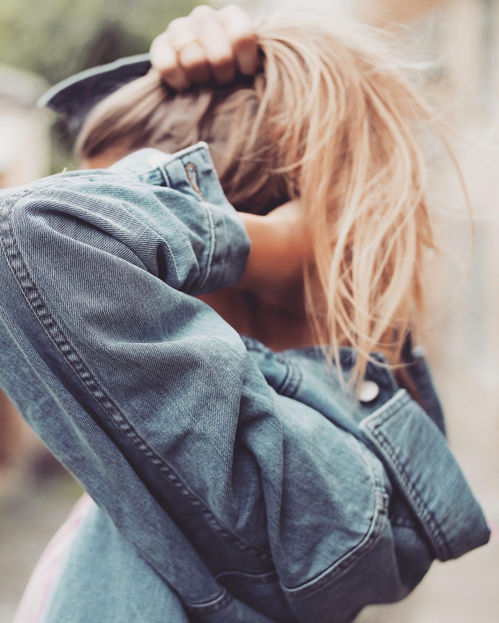Festival Dressing Asos - Vintage Denim Jacket