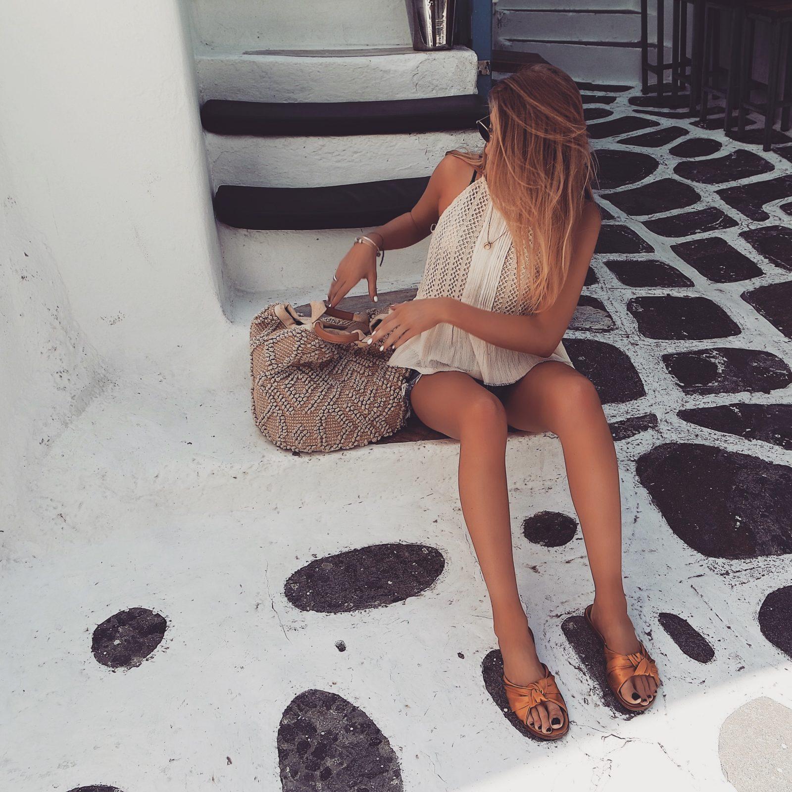 Holiday Lookbook - Mykonos - Basket Bag