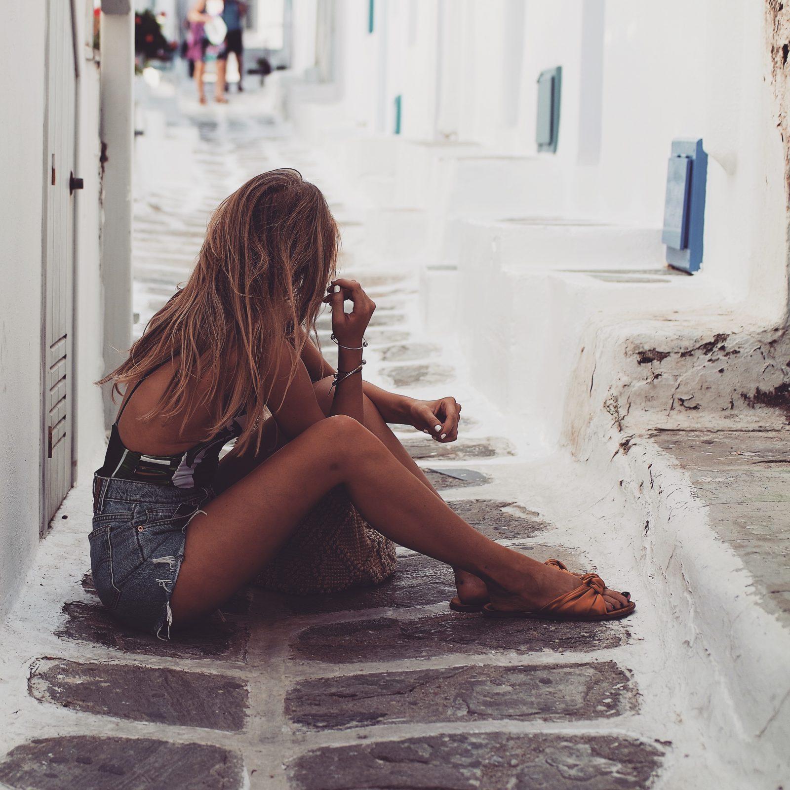 Holiday Lookbook - Mykonos - Denim Shorts