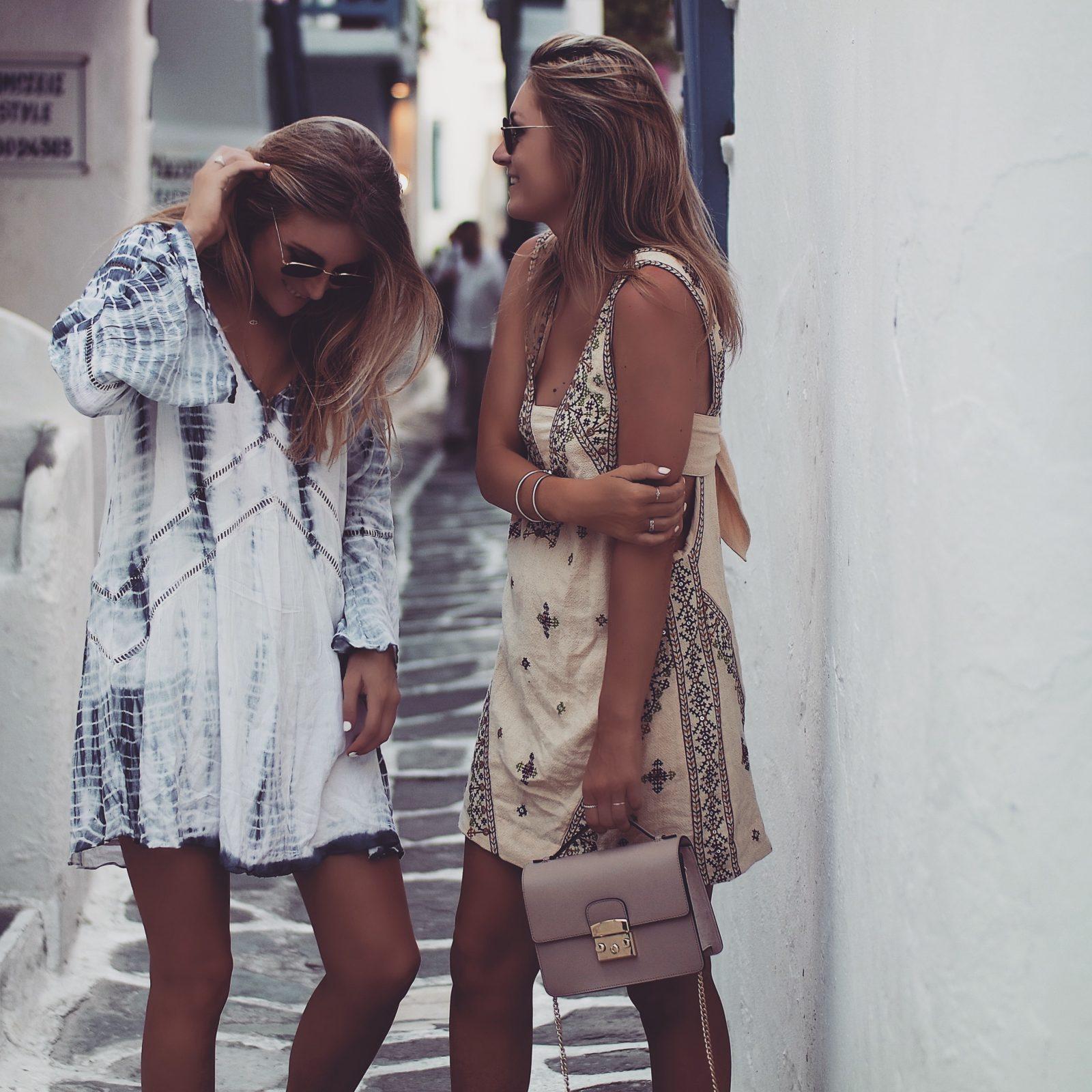 Holiday Lookbook - Mykonos Free People Embroidered Dress