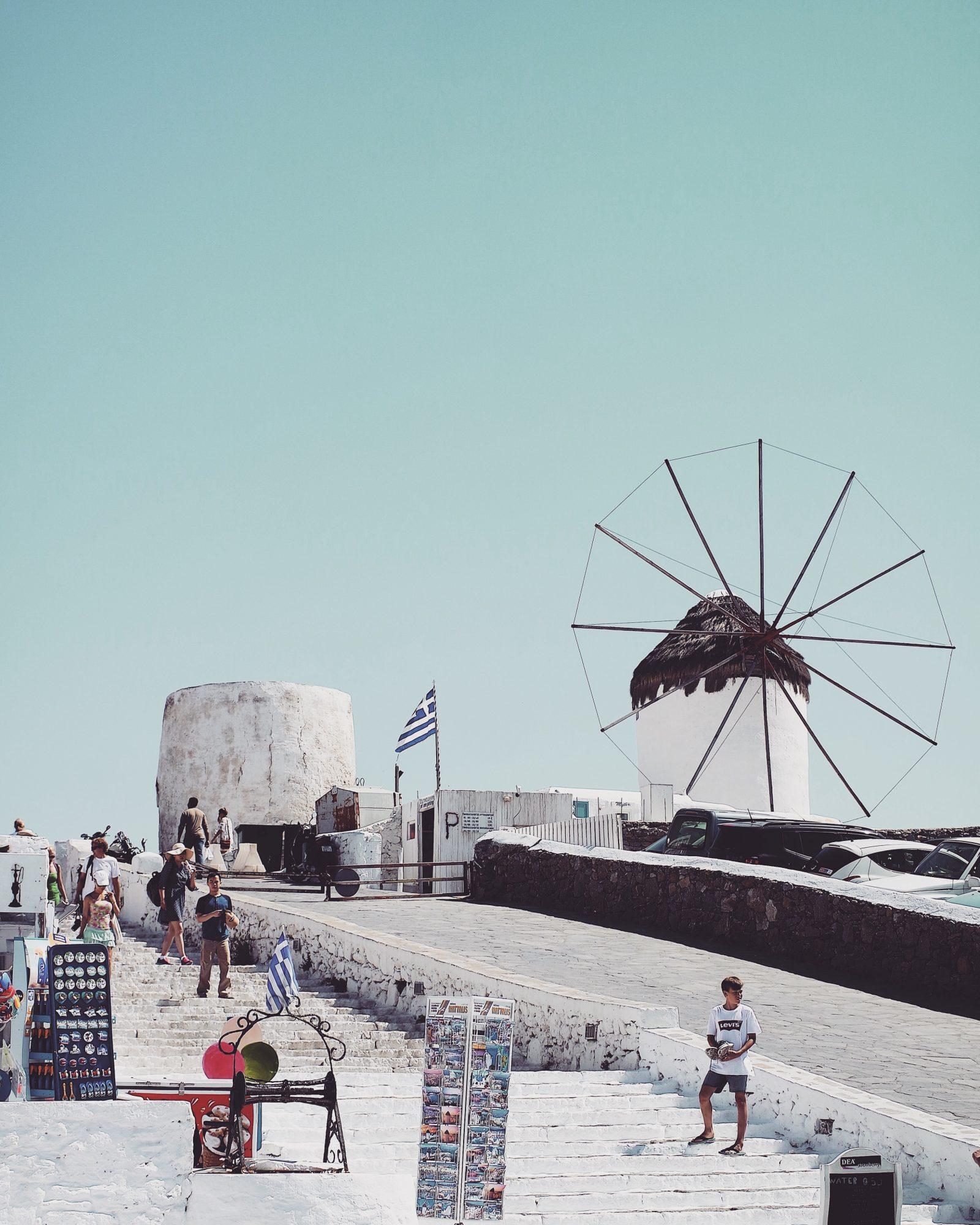 Holiday Lookbook - Mykonos Windmill