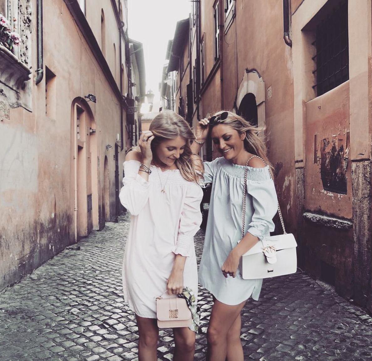 Holiday Lookbook - Rome - New Look Bardot Dress