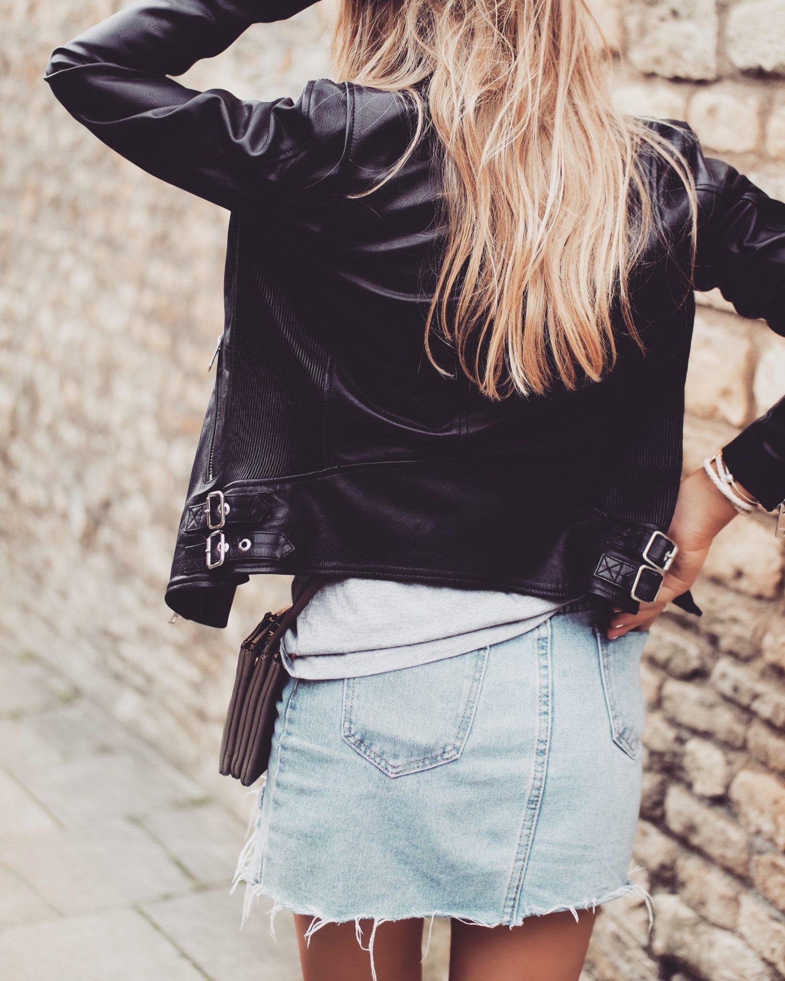 Leather Jacket - Deisel Classic Style