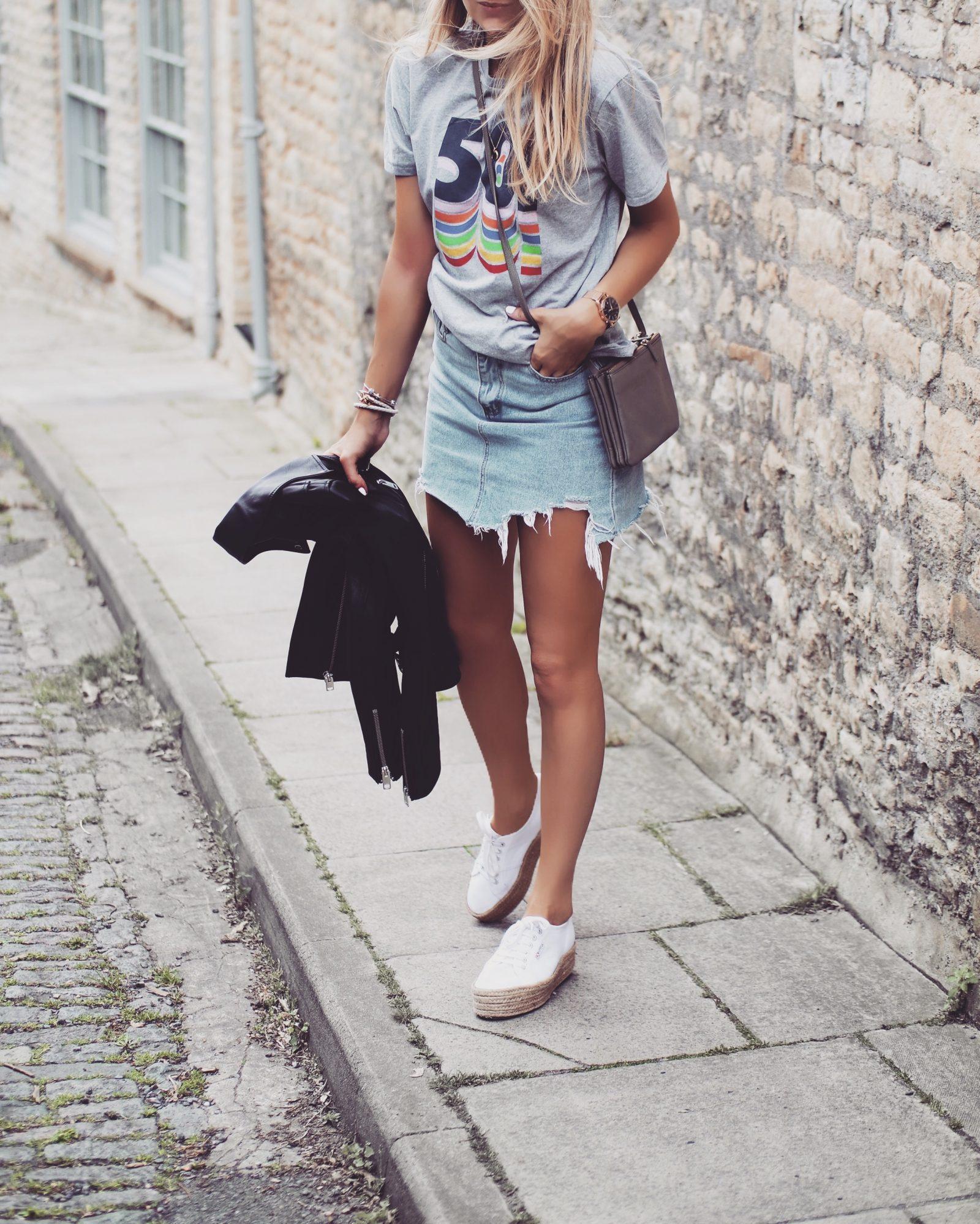 Leather Jacket - Summer Street Style