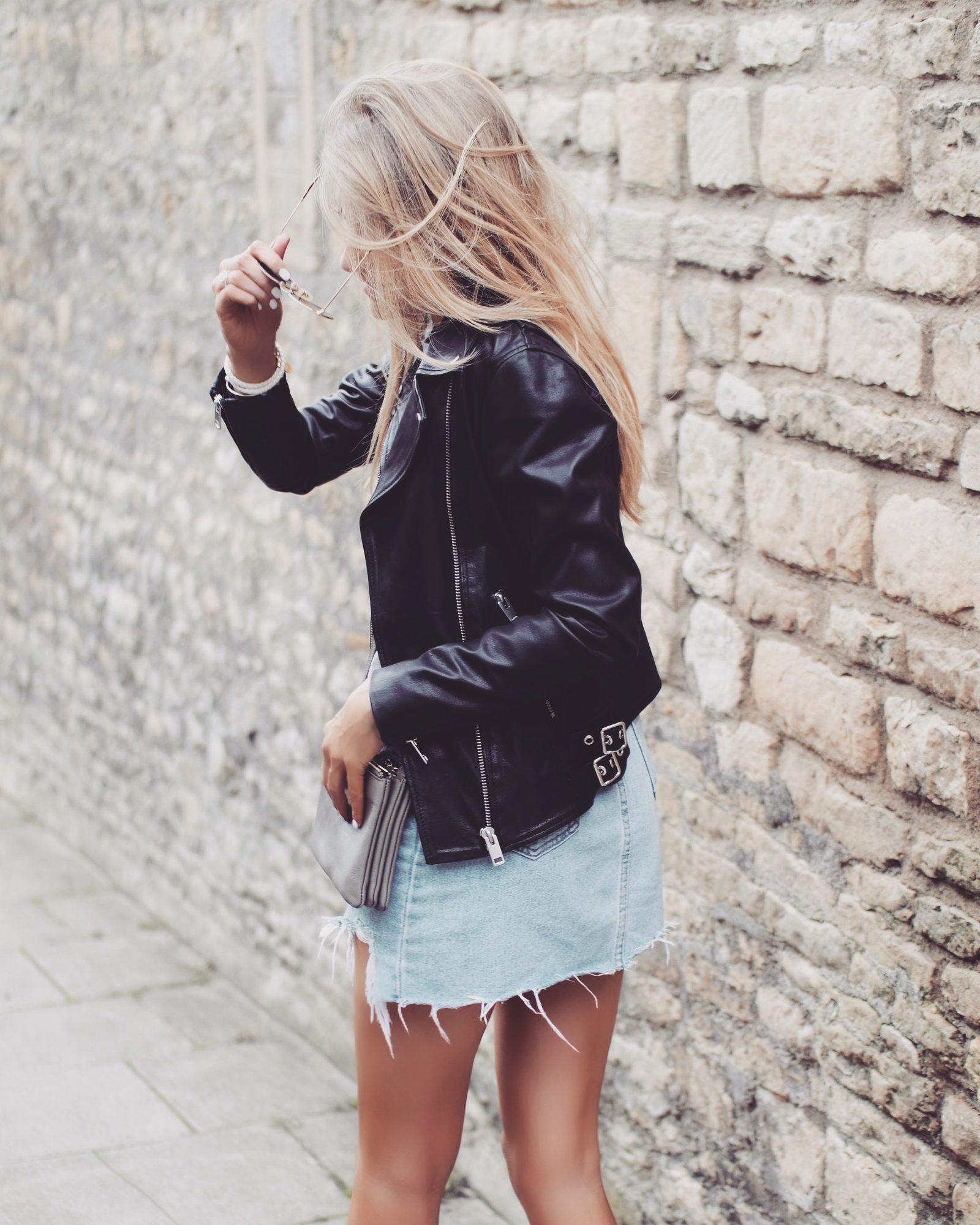 Leather Jacket - Transitional Styling