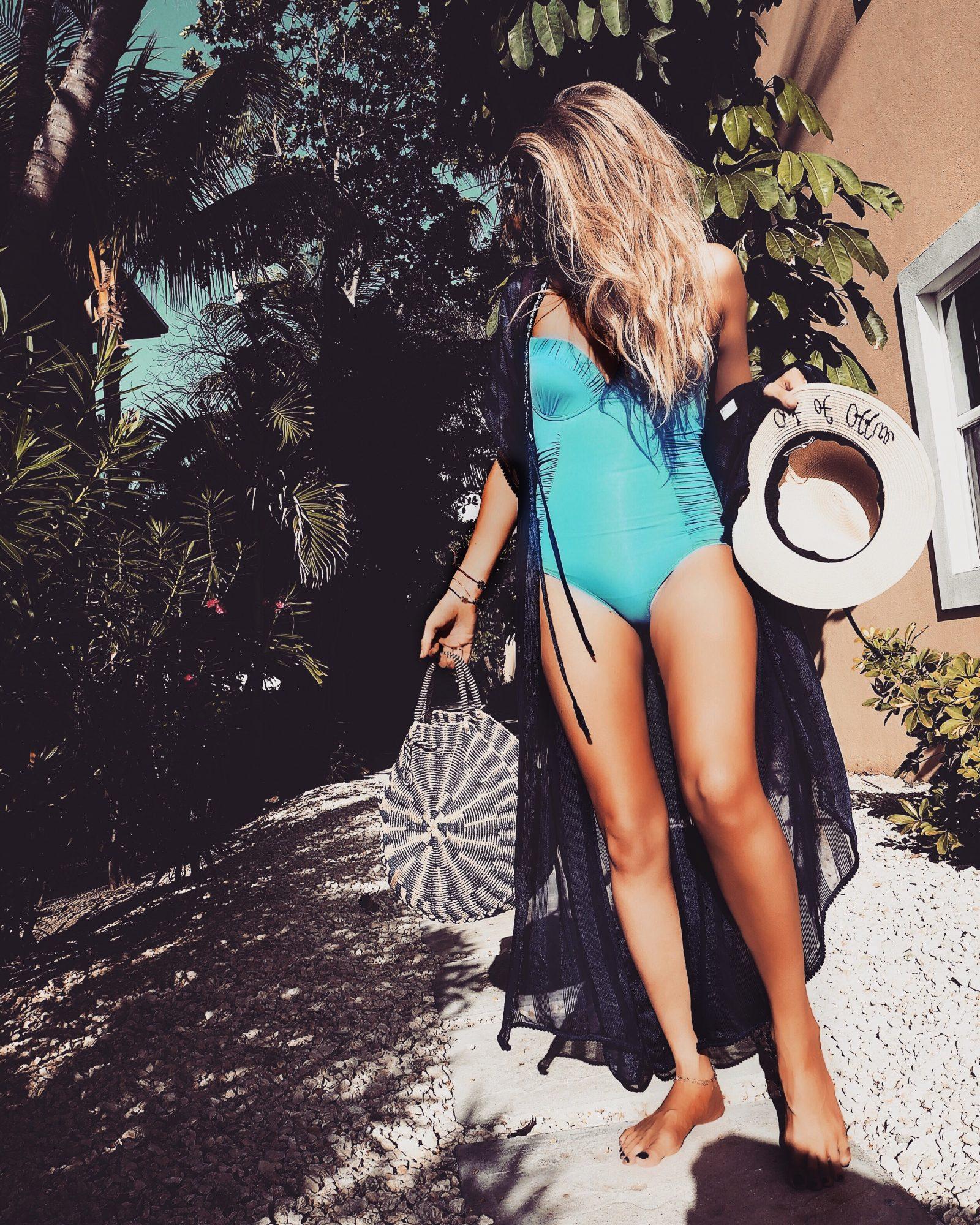 Be Beach Ready - Blue Swimming Costume