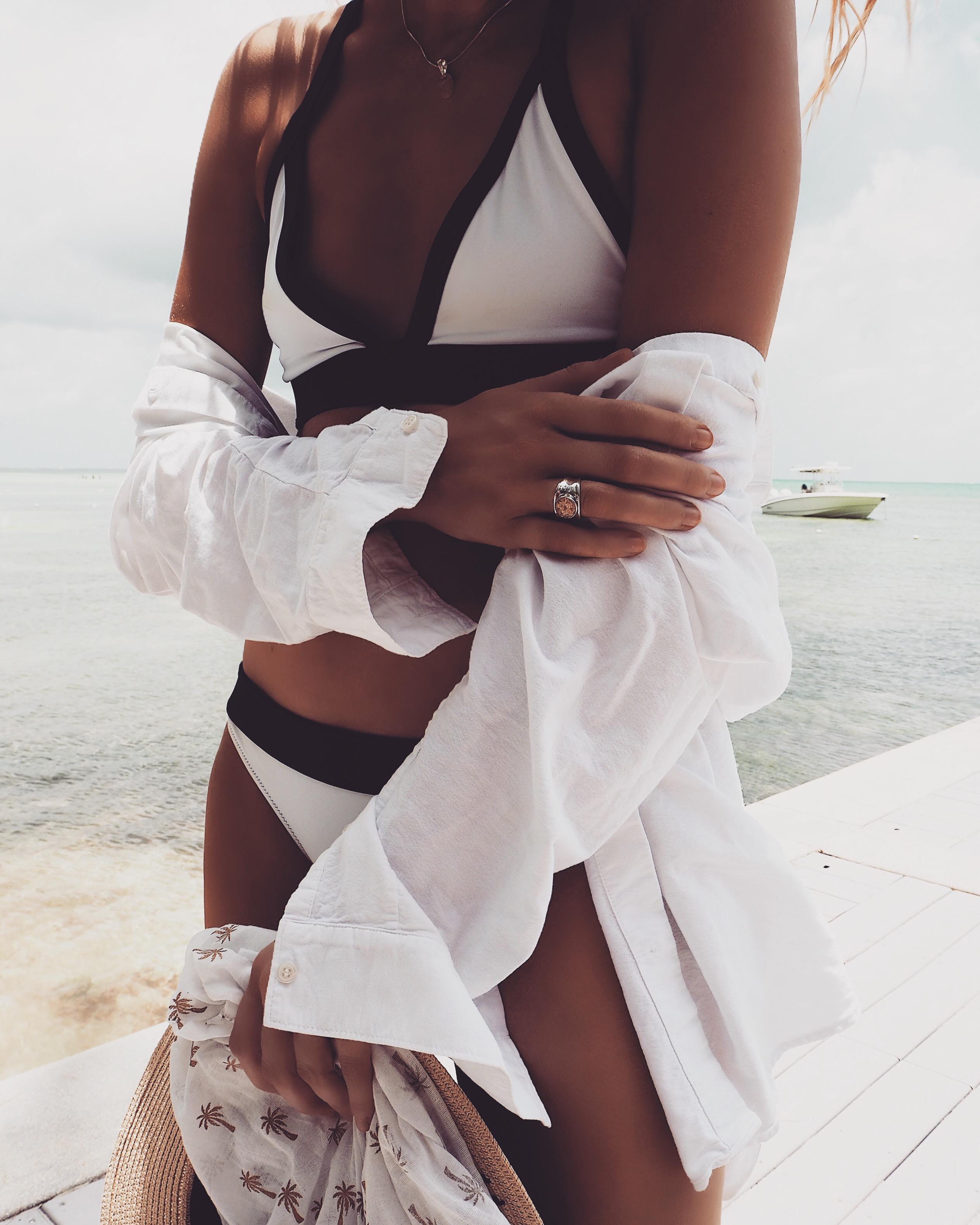 Heidi Klein - White Beach Outfit - Dune Jewellery