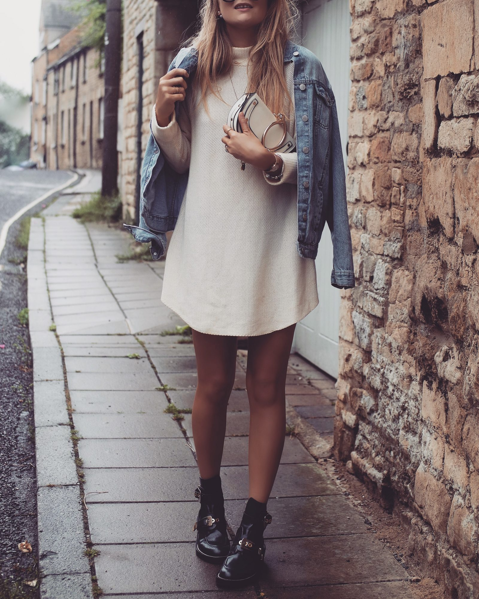 Henry London Rose Gold Watch - Fashion Blogger Layering