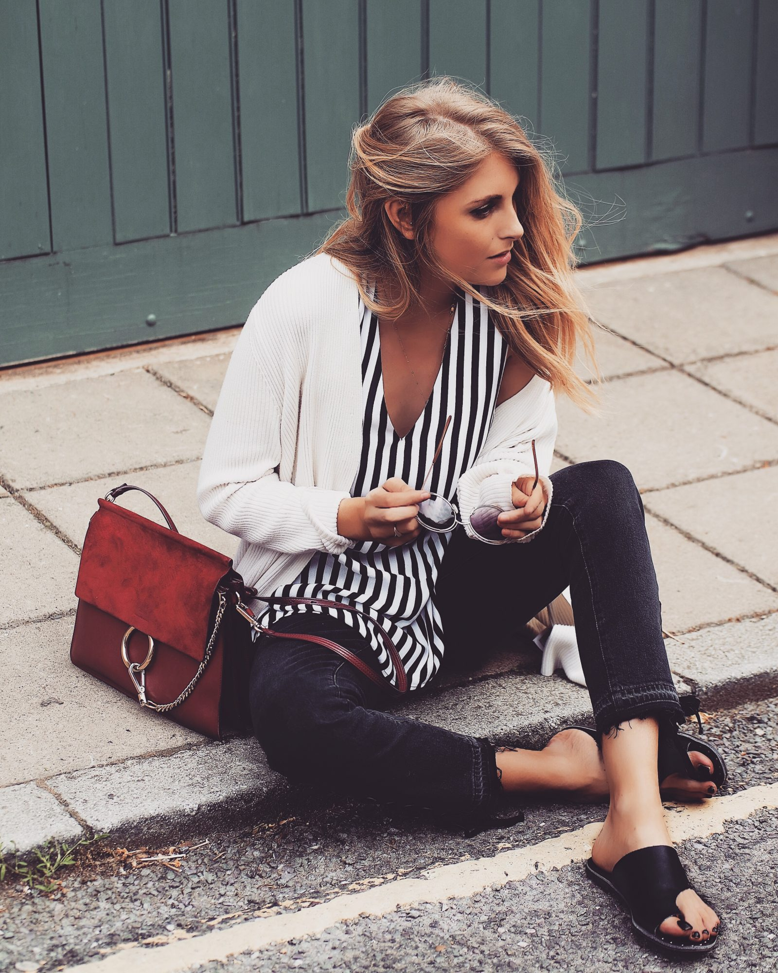 Monochrome Summer Outfit - Street Style Fashion Blogger