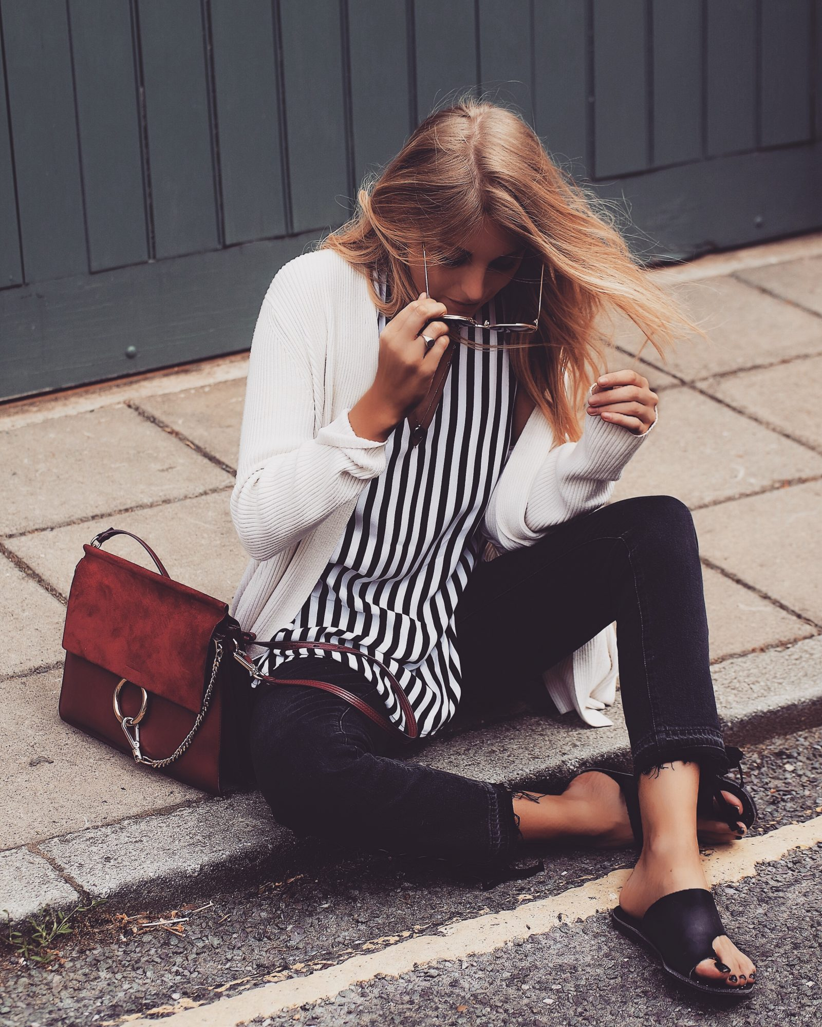 Monochrome Summer Outfit - Street Style Inspiration