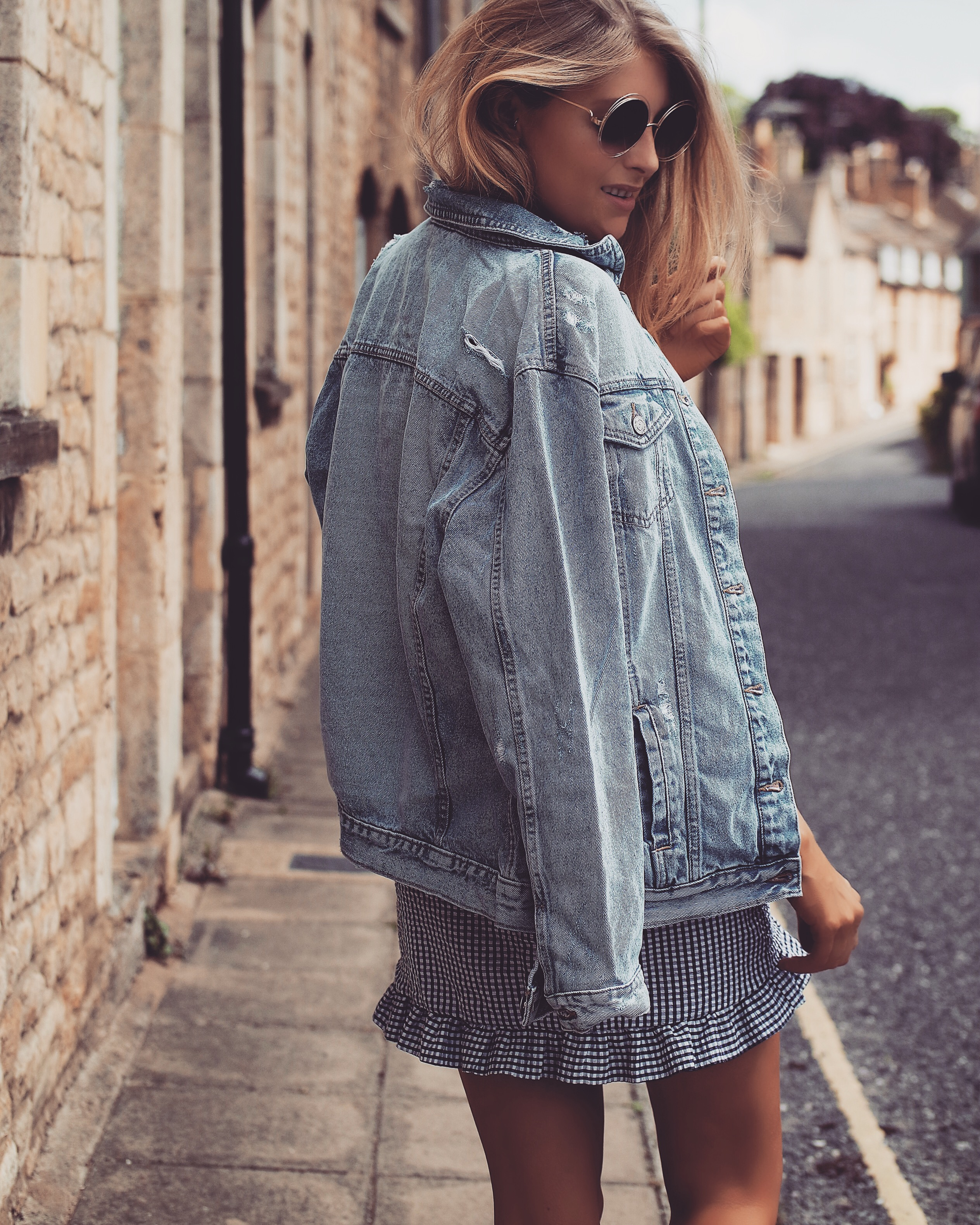 Summer BBQ Style - Oversized Denim Jacket | Love Style ...