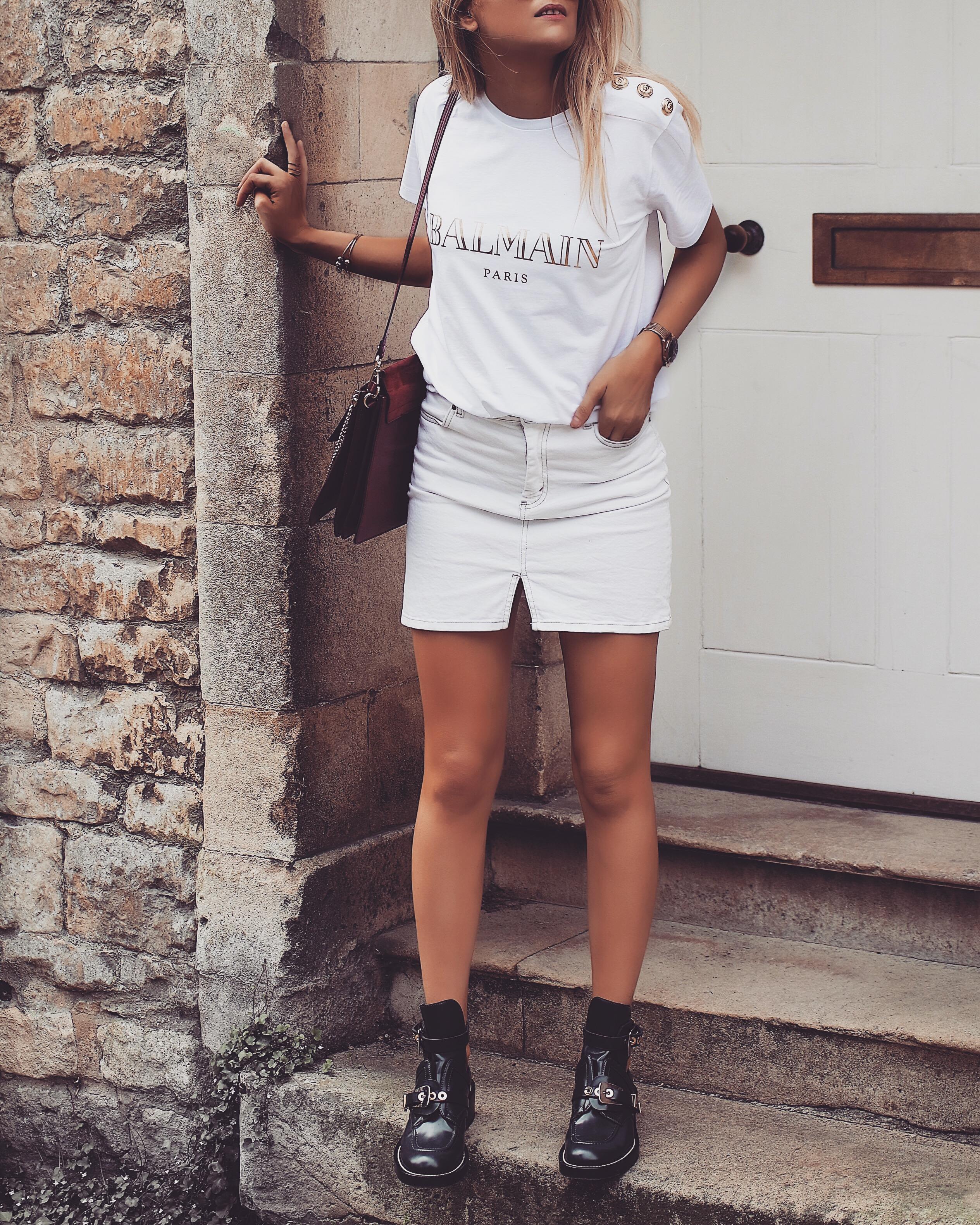 The Designer Slogan Tee - Balenciaga Cut Out Boots  7815ded4ed3f