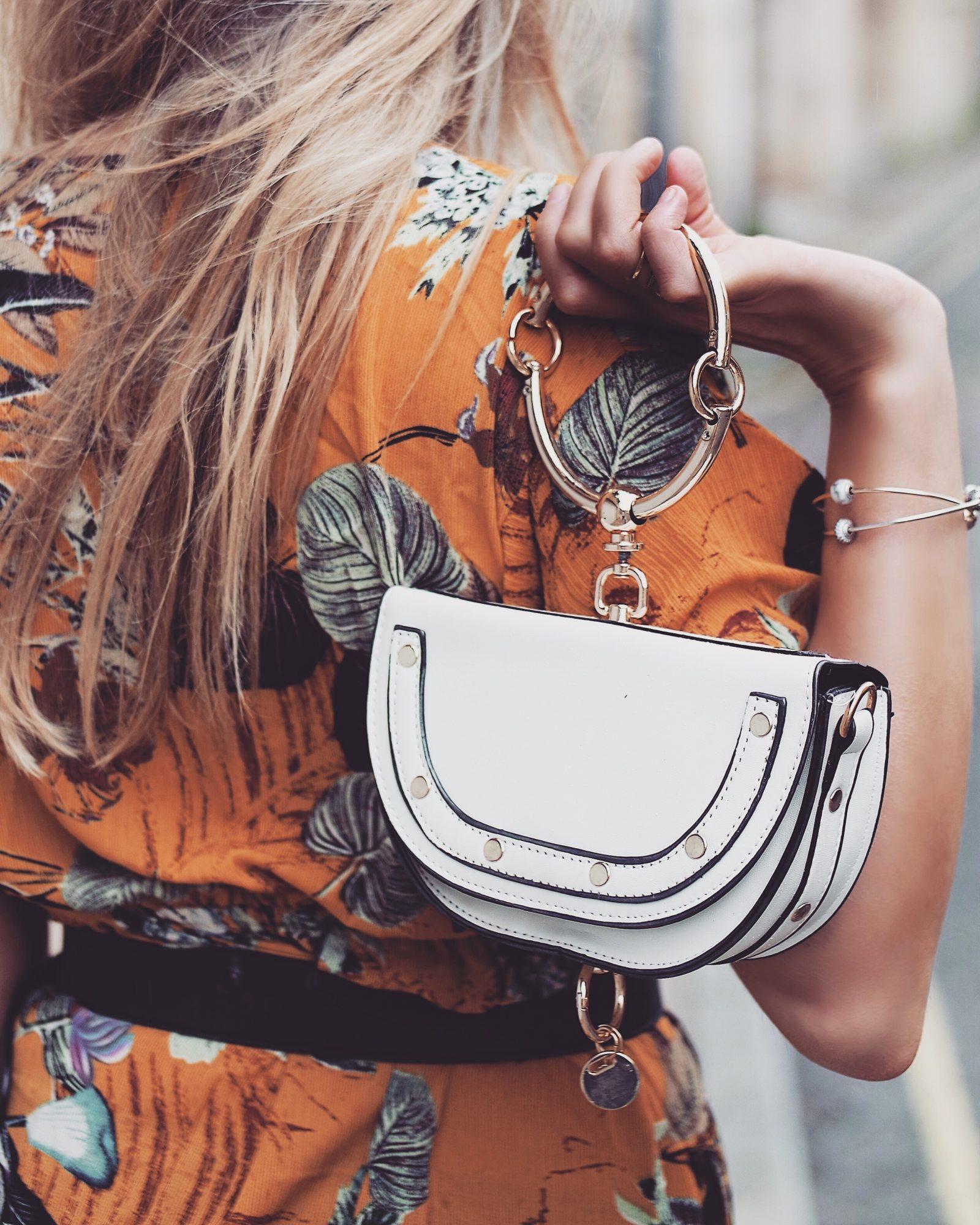 The Wrap Dress - Chloe Nile Dupe Bag