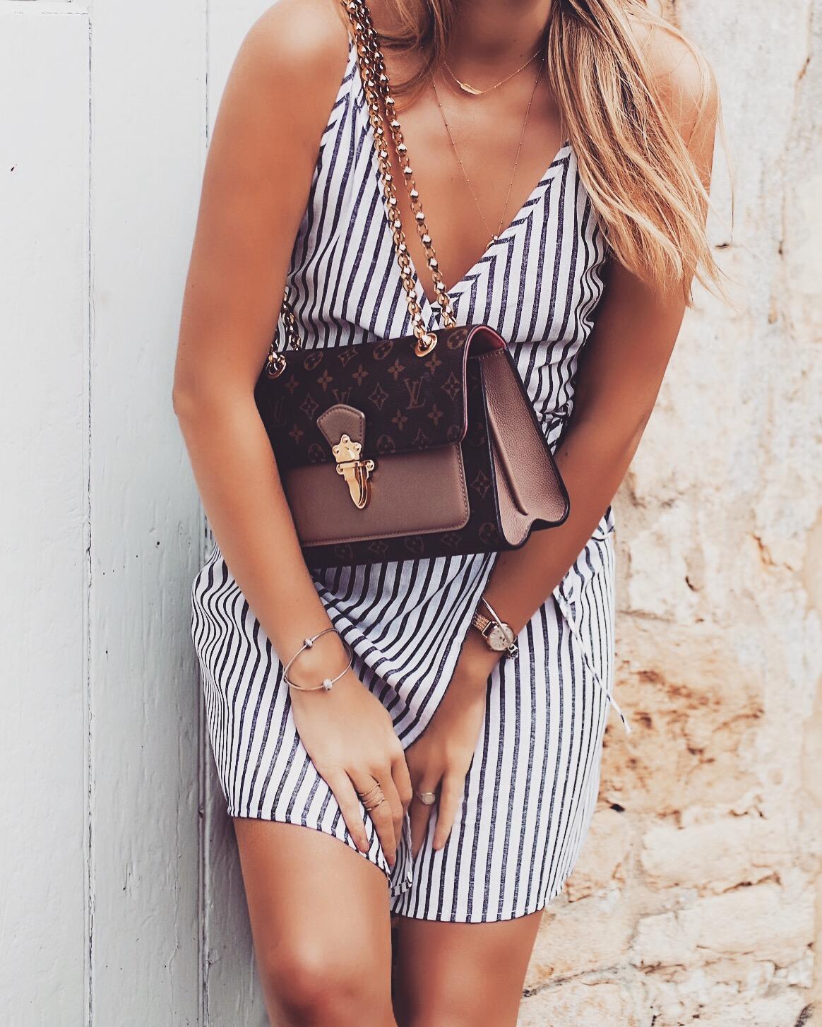 The Wrap Dress - Louis Vuitton Victoria