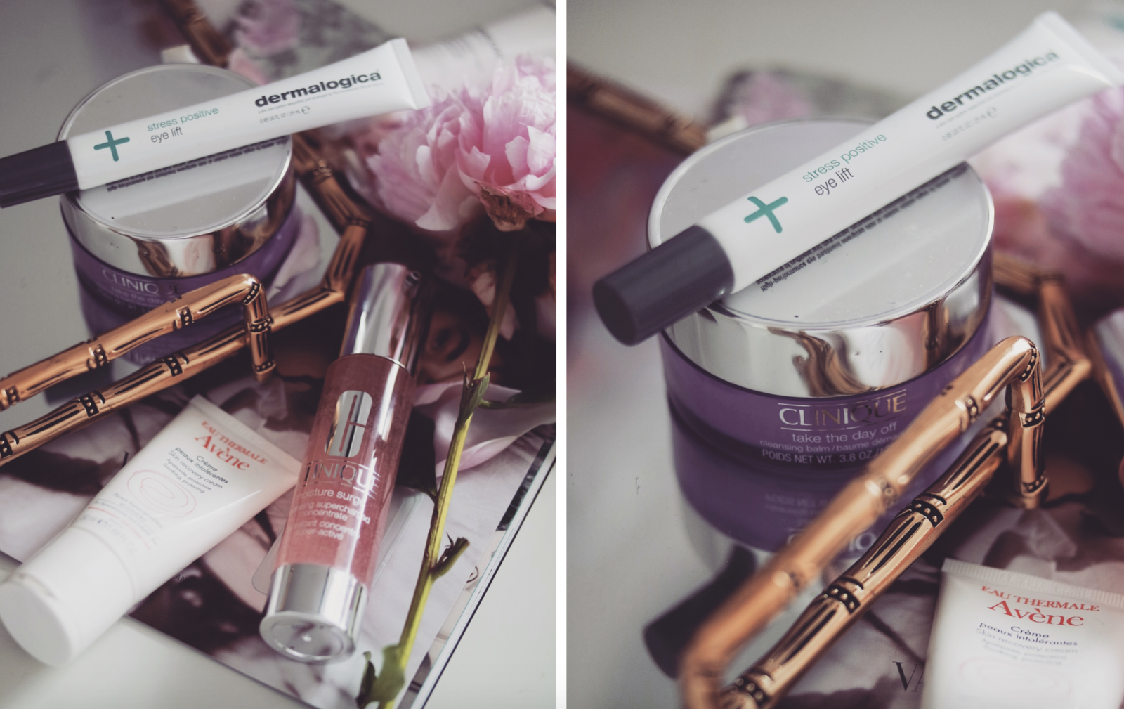 Travel Beauty Essentials - Face Beauty Products. Clinique Moisturiser and Cleansing Balm