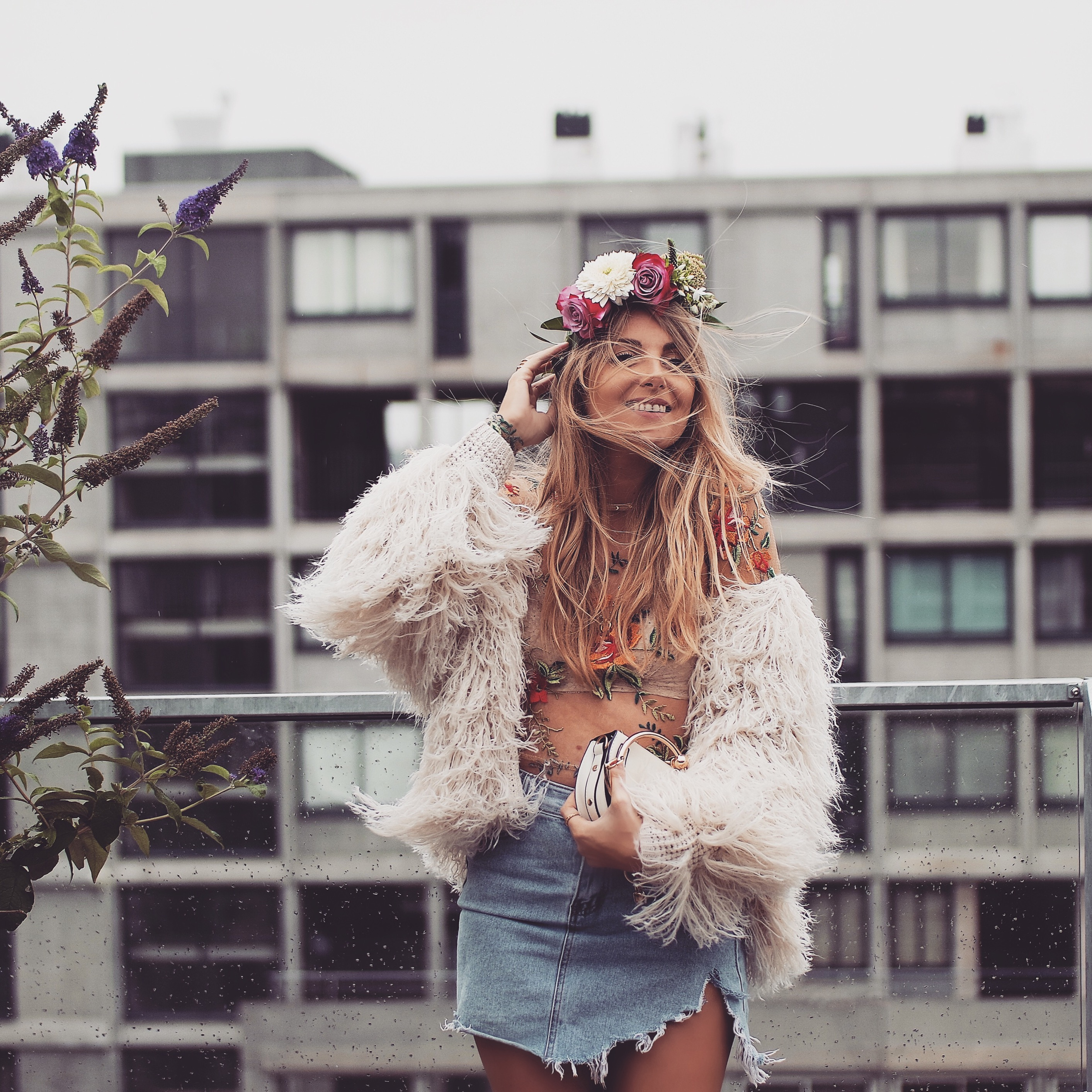 48 Hours In Amsterdam Flower Crown Love Style Mindfulness