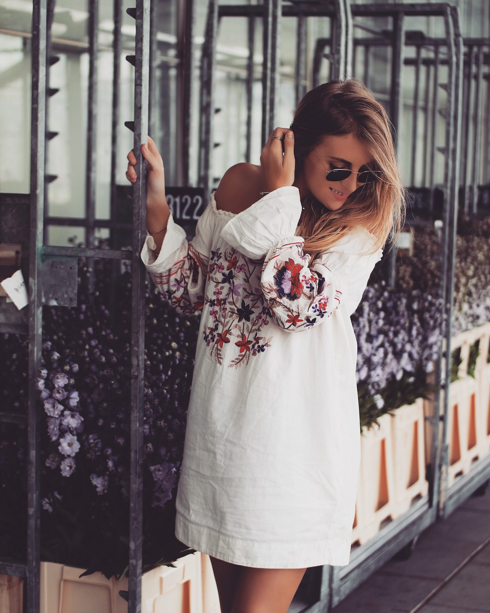 48 Hours In Amsterdam - Free People Embroidered Dress