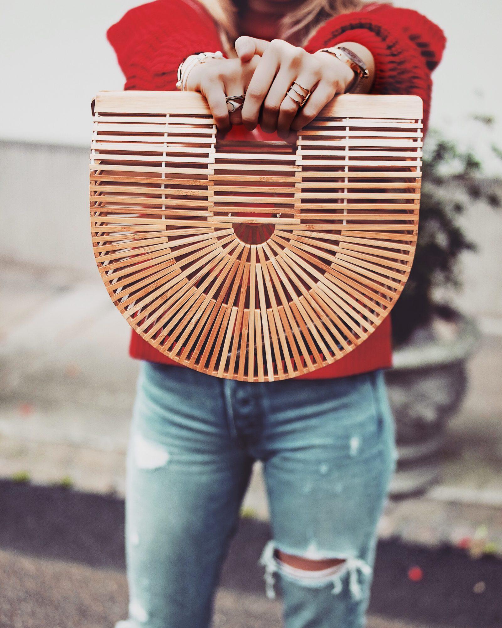 Best Knitwear - Cult Gaia Basket Bag Dupe