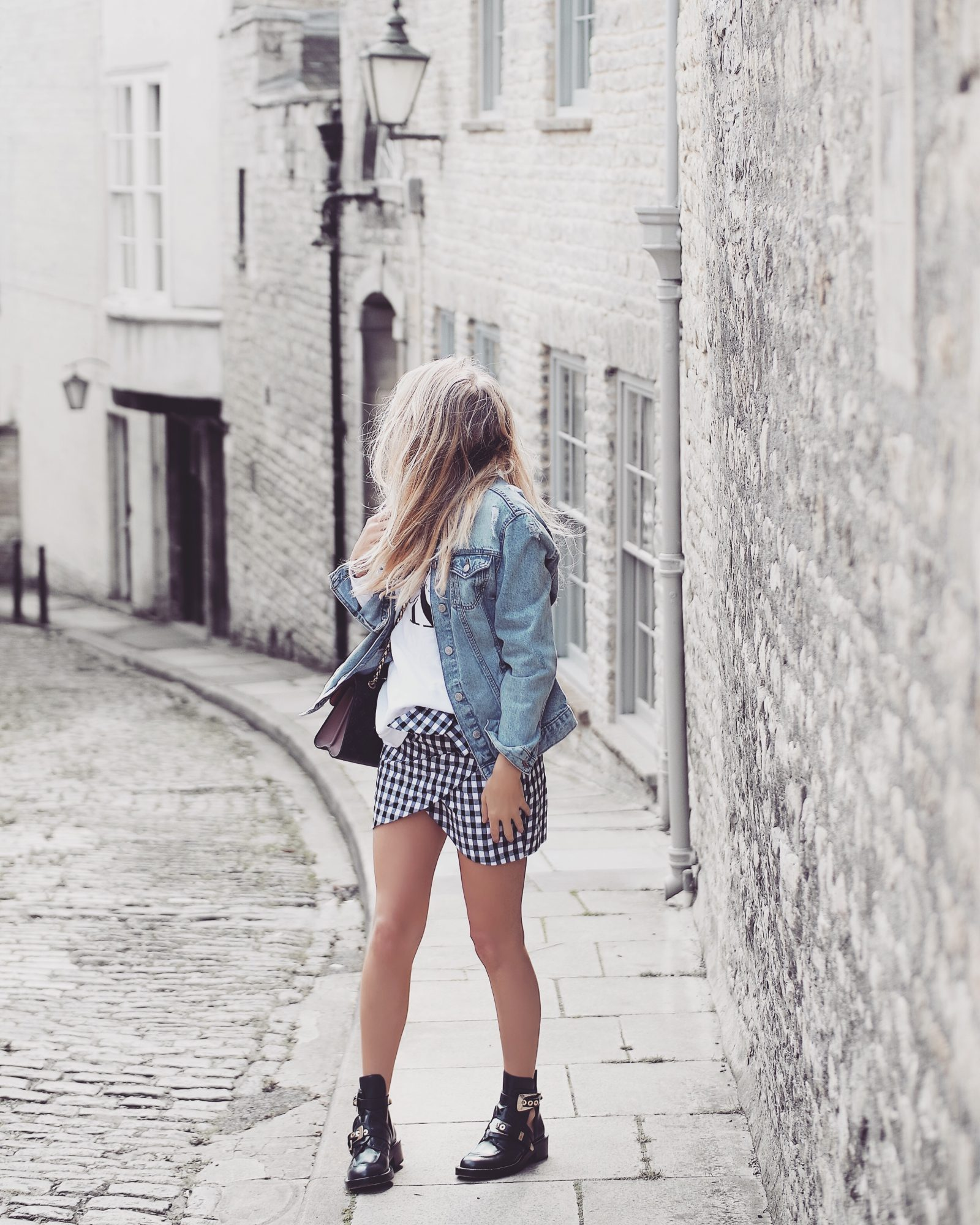 Gingham Skirt Outfit Ideas
