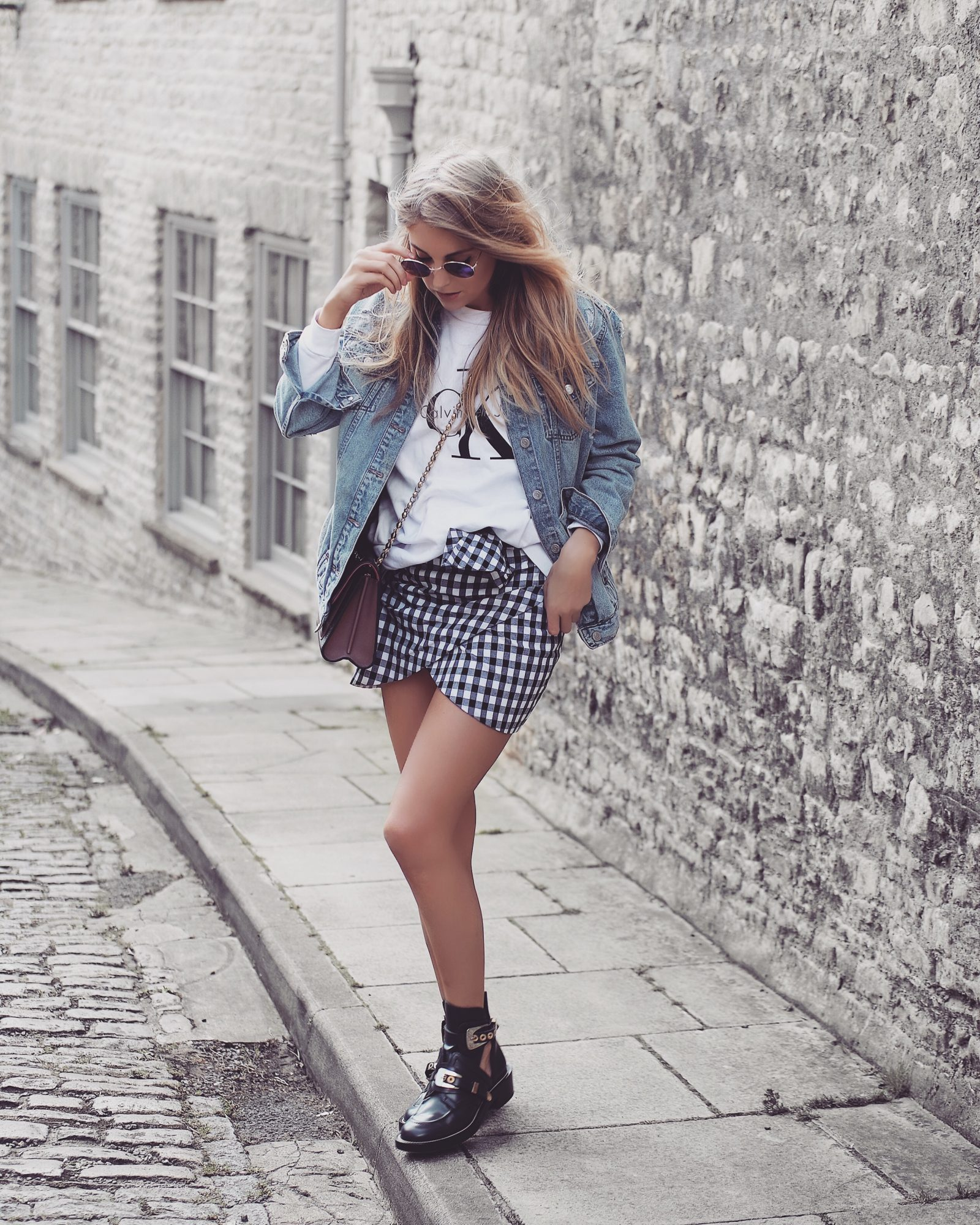 Gingham Skirt Outfit Inspiration