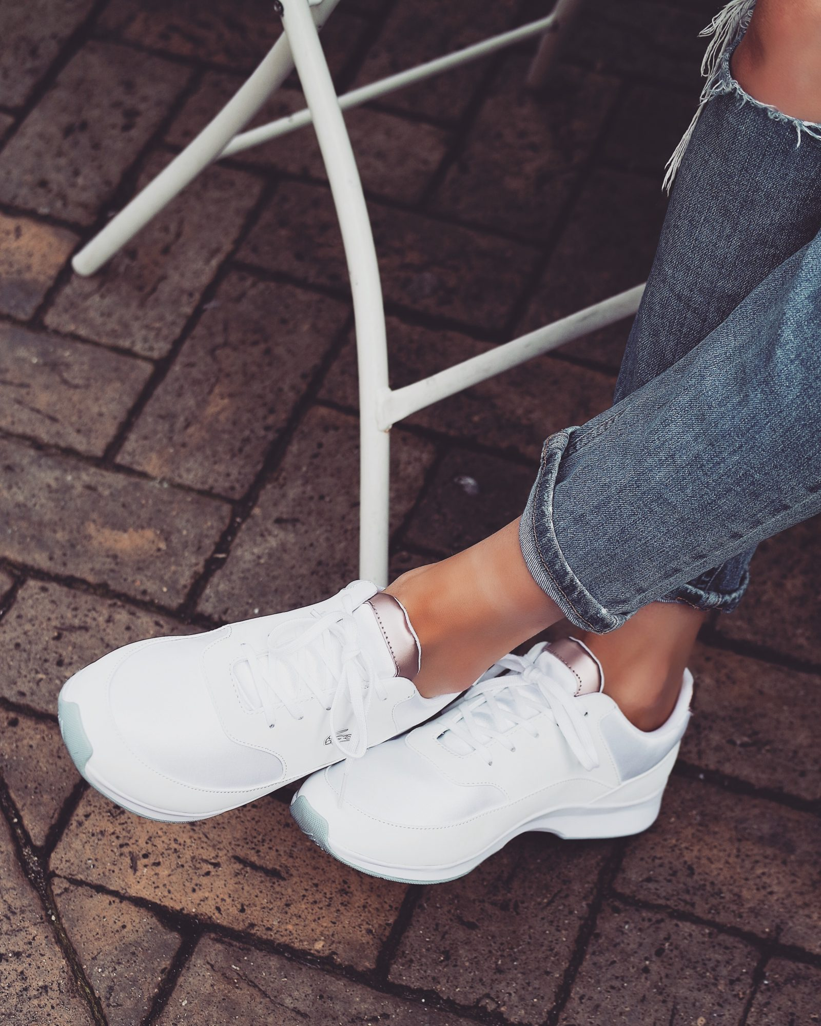 Lacoste Rose Gold Trainers