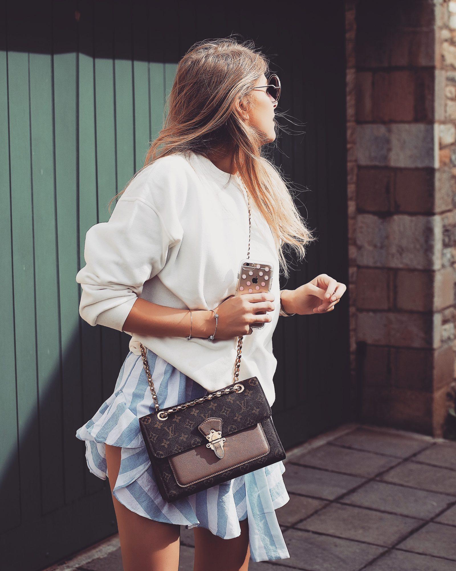 Real Time Haul - Louis Vuitton Bag, Fashion Blogger Street Style