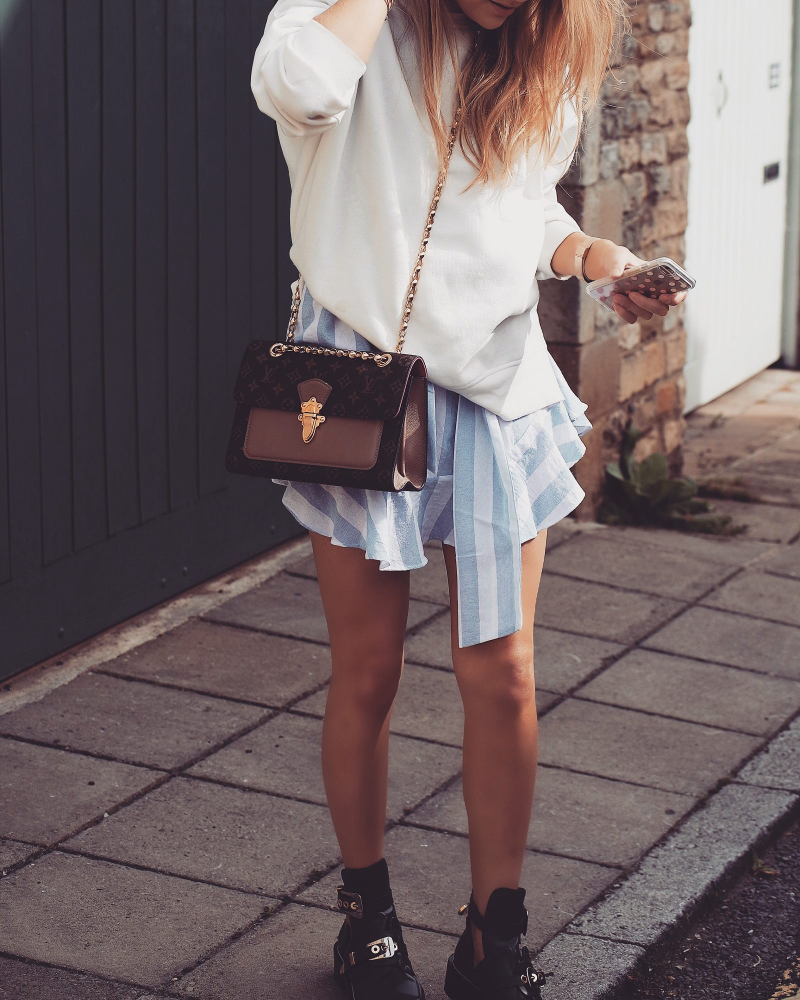 Real Time Haul - White Sweatshirt, Fashion Blogger